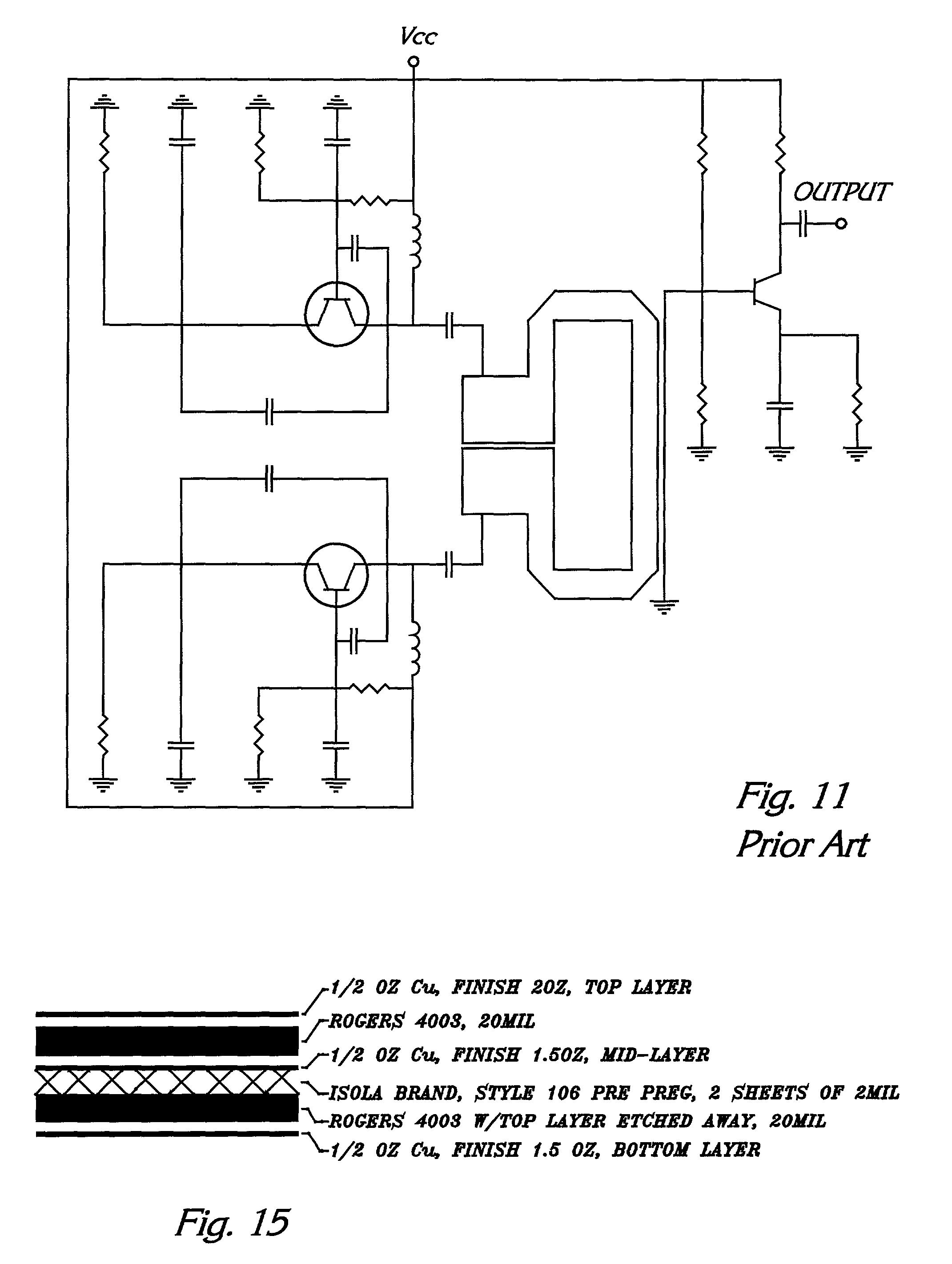 Patent Us20020145475 Dual Conversion Rf Synthesizer Utilizing 6 Volt Generator Wiring Diagram 1950 Mercury Drawing