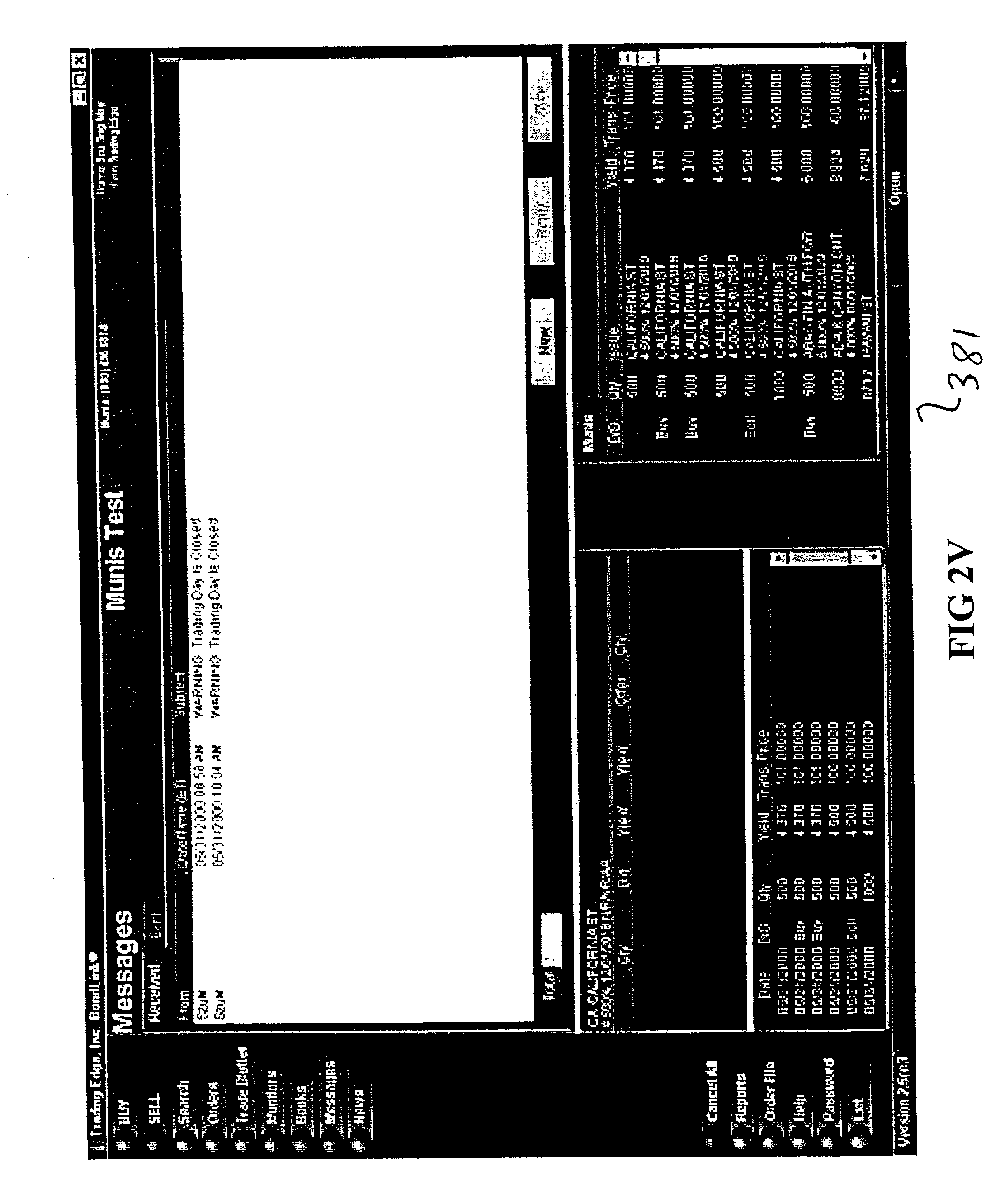 Convertible bond trading system