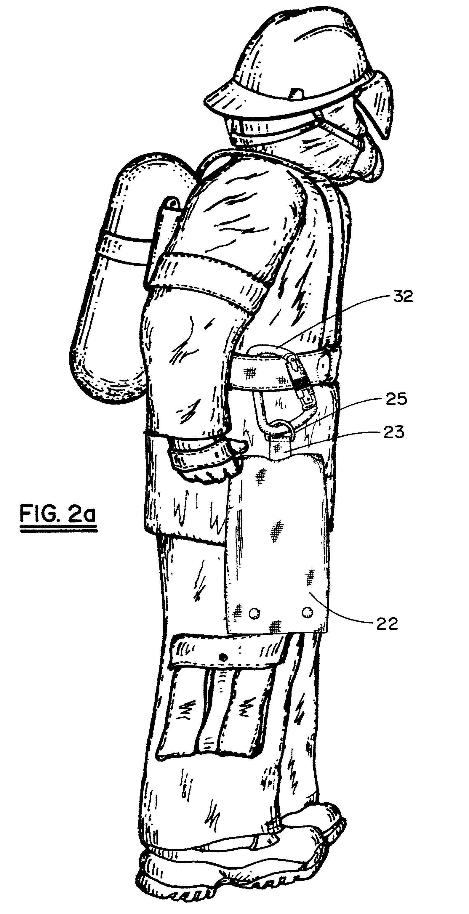 patent us20020158098 - firefighter u0026 39 s safety kit