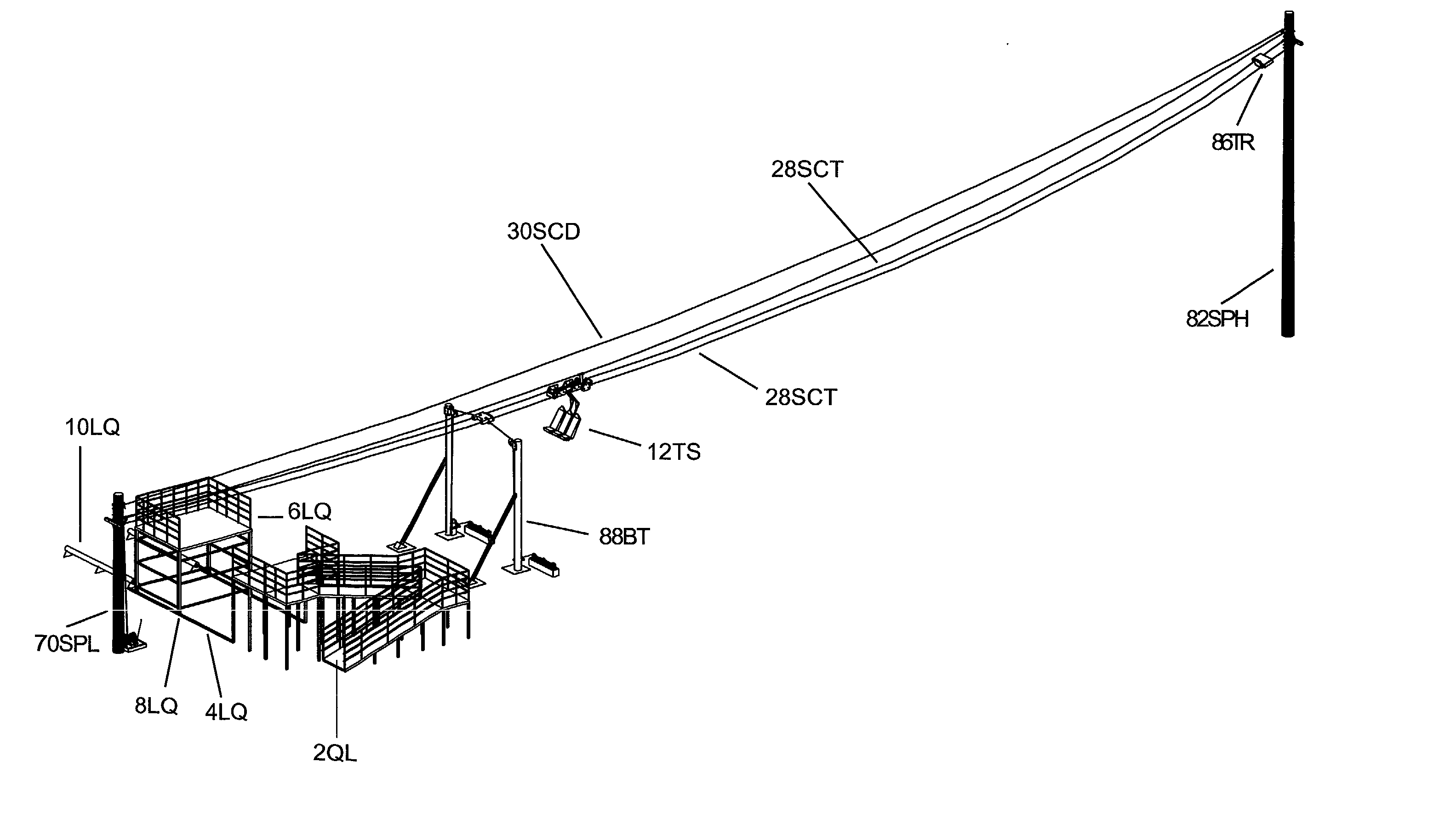 Drawing Lines With Zip : Patent us  dual cable zipline having