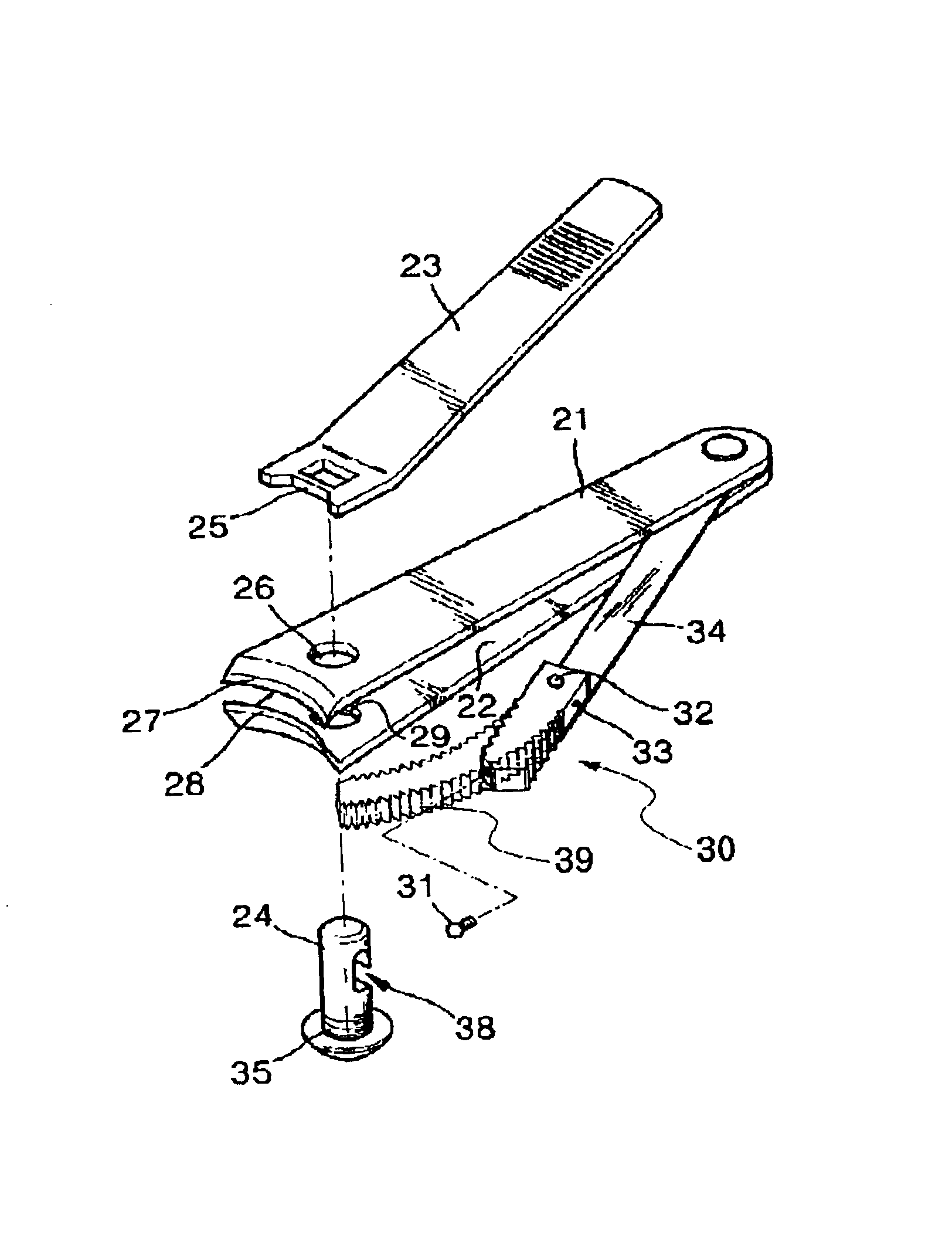 Patent US20020178585 - Nail cutter equipped with ...