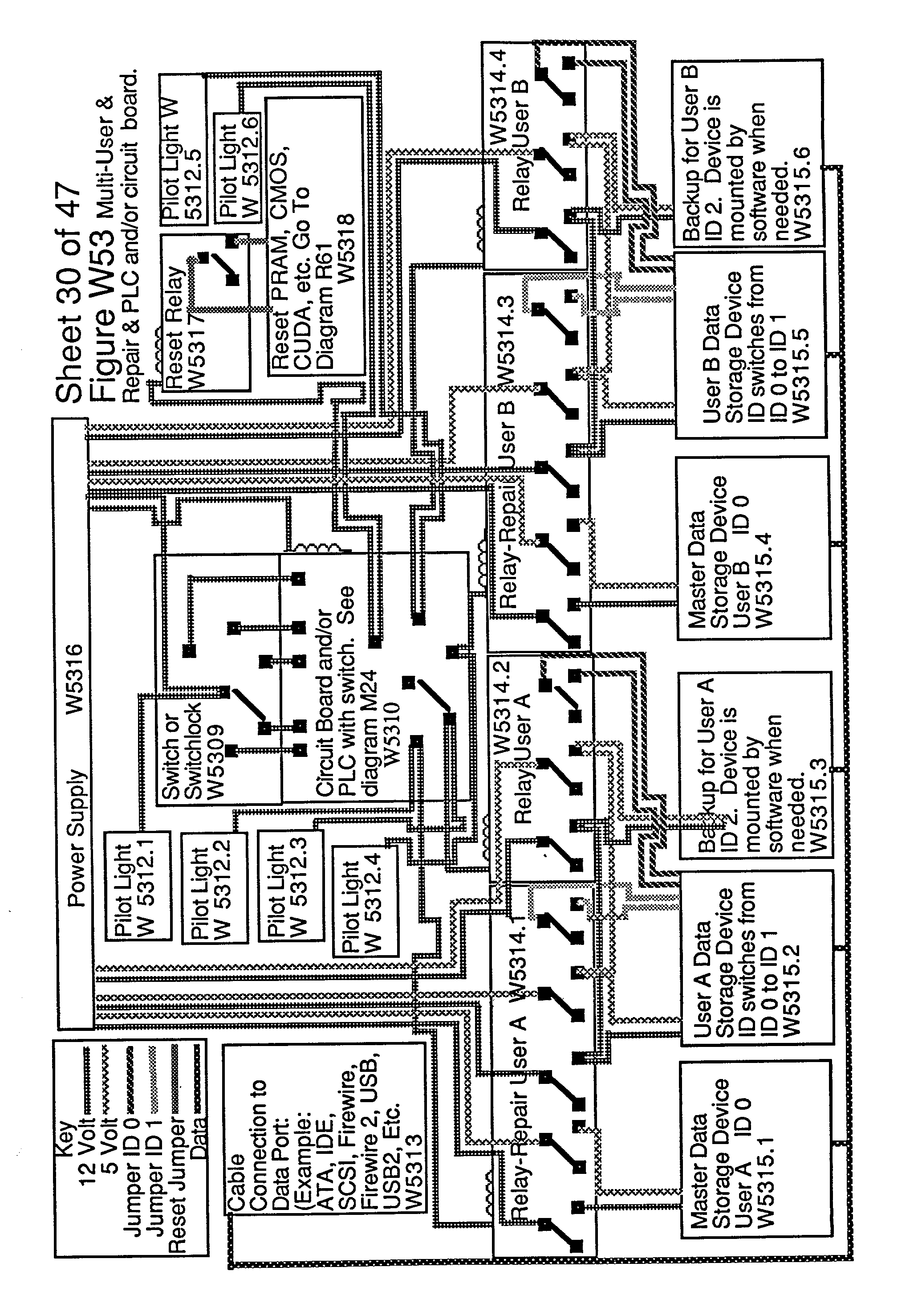 Patent Us20020188887 Computer With Switchable Components Google Firewire Diagram Figure Us20020188887a1 20021212 P00081
