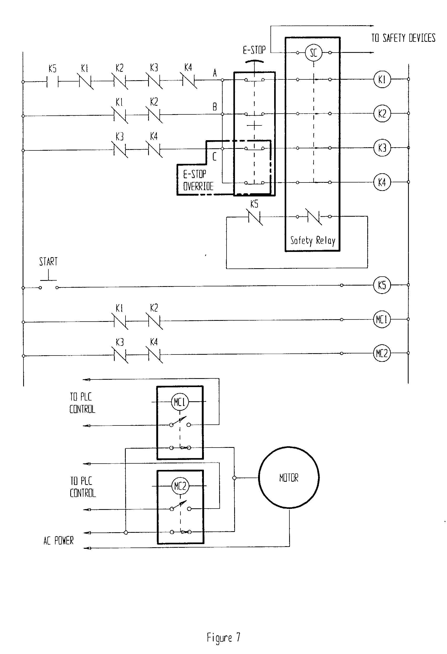 US20020195883A1 20021226 D00007 patent us20020195883 remotely actuated, circuit testing e stop wiring diagram at n-0.co