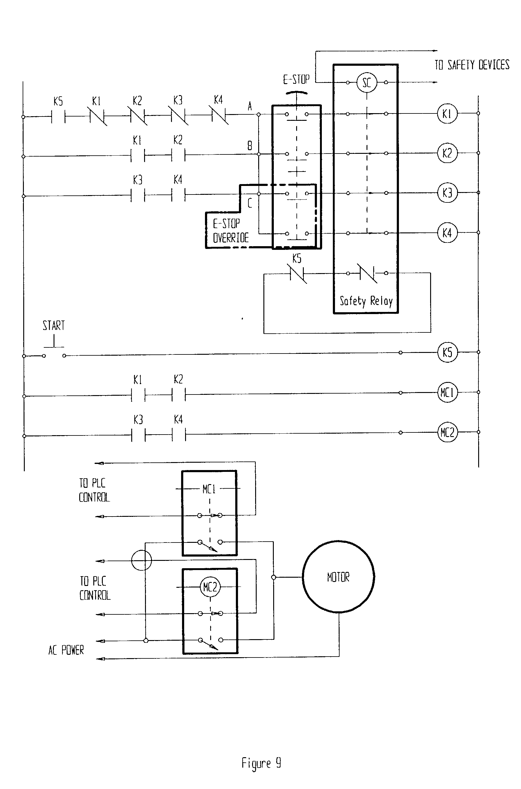 patent us20020195883 remotely actuated, circuit testing Estop Wiring Diagram Trip Estop Wiring Diagram Trip #62 Start Stop Station Wiring Diagram