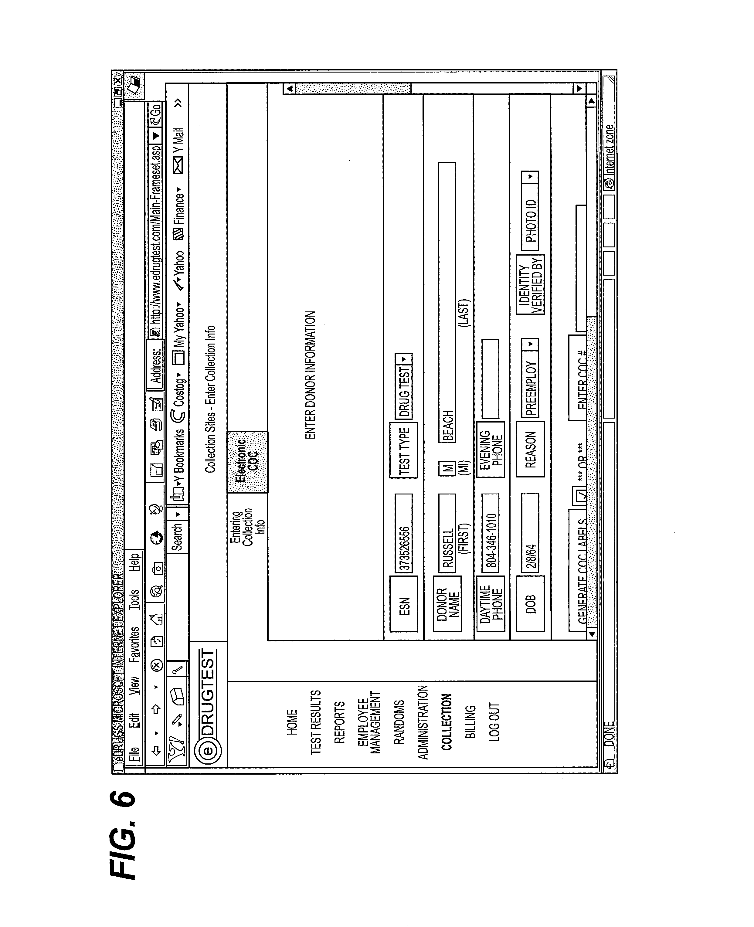 Patent US20030004755 - Internet based custody and control form for ...