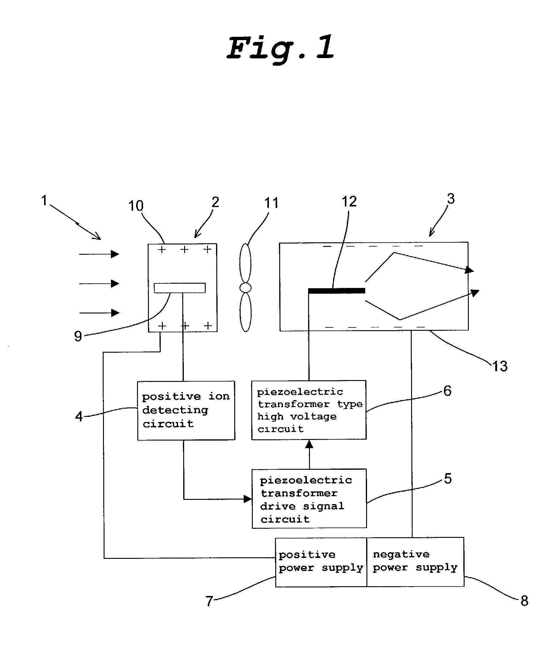 Patent Us20030011956 Negative Ion Generator Google Patents Power Supply Circuit Drawing