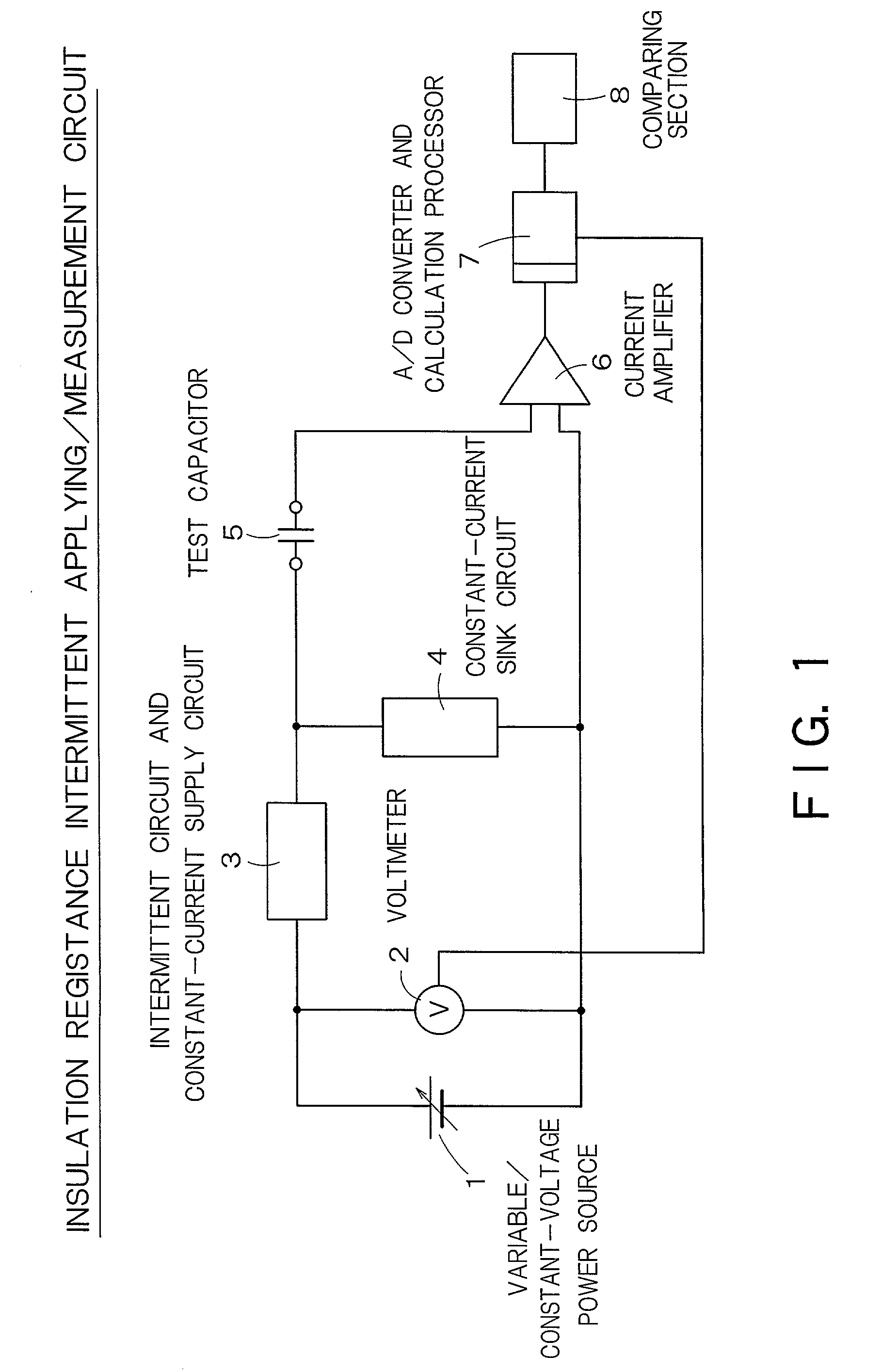 Patent Us20030020486 Method Of Measuring Insulation Resistance Power Supply Circuit Moreover Dc Furthermore Drawing