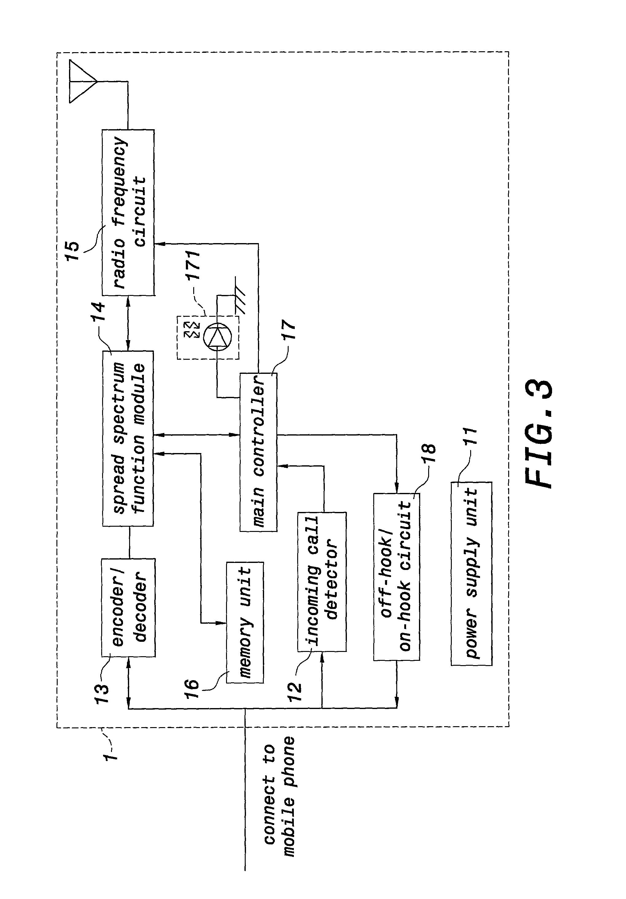 patent us20030069048  transmitter