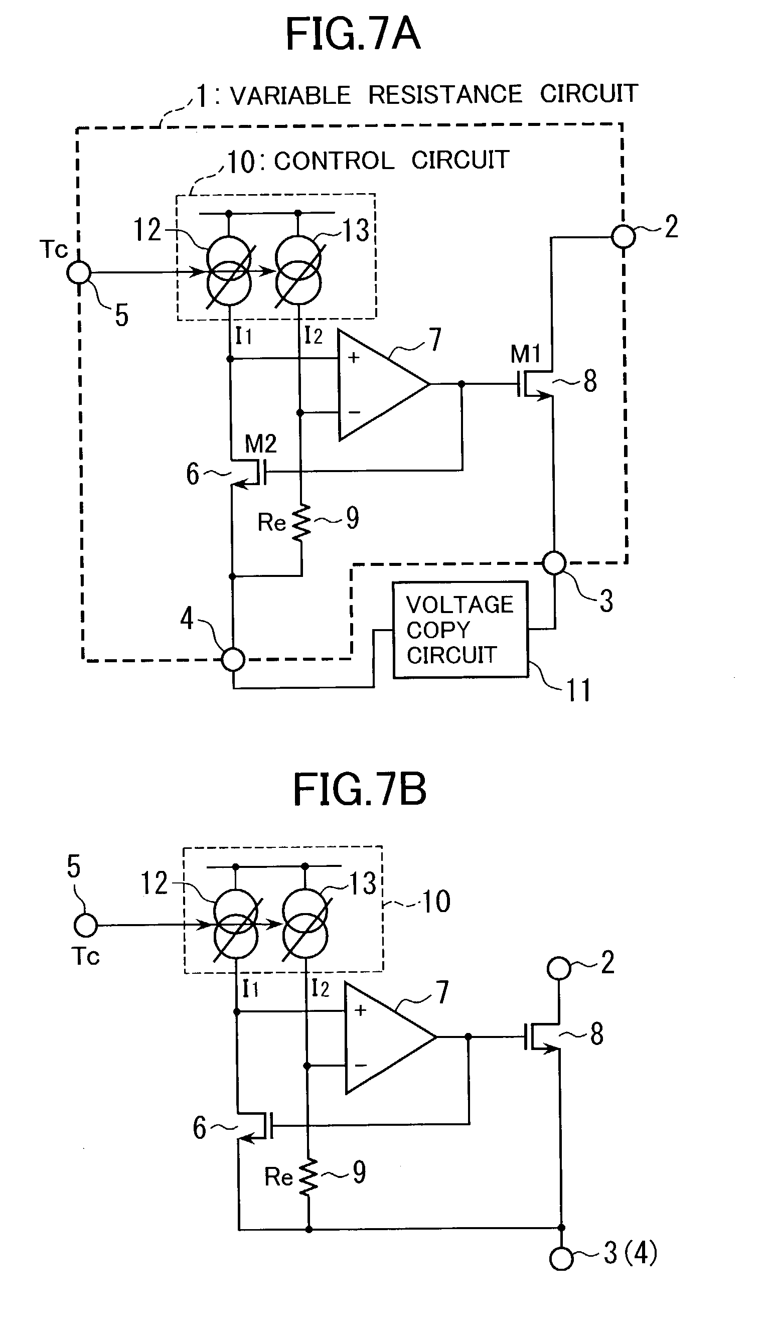 Triode Variableresistance Threshold Control Switch Circuit Diagram Variable Resistor Patent Us20030076148 Resistance And Application