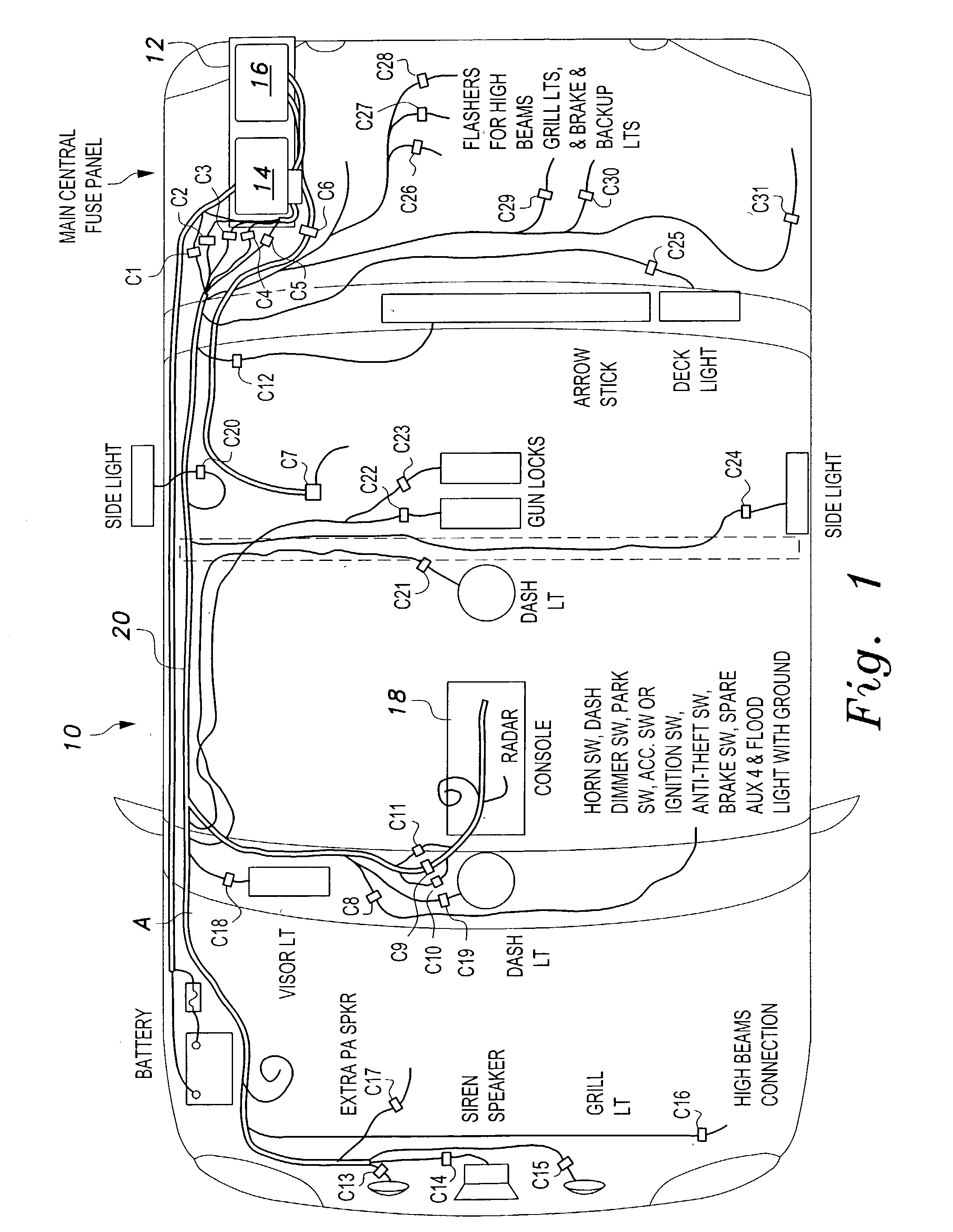 patent us20030090153 - universal fleet electrical system