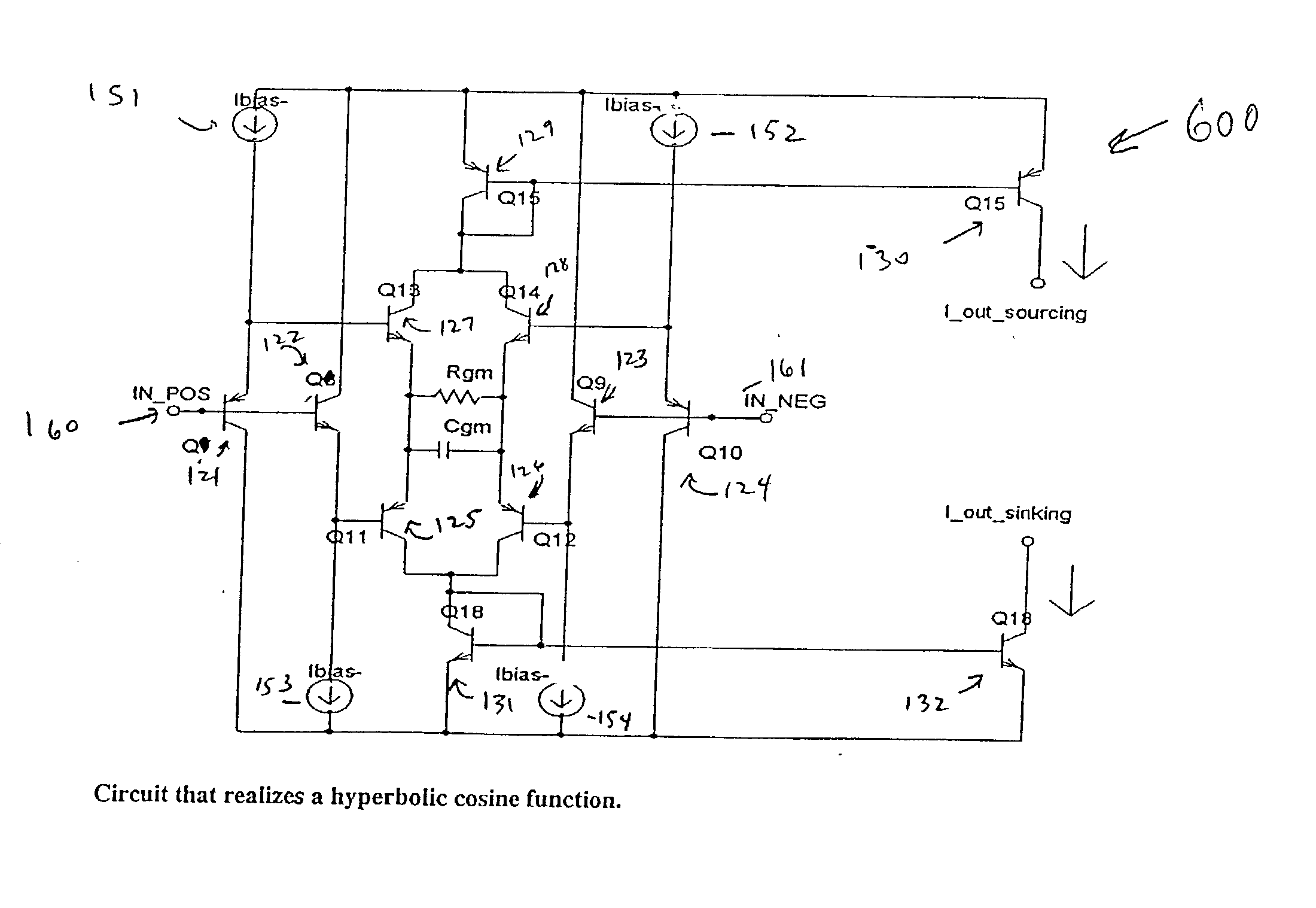 Brevet Us20030090321 Bipolar Class Ab Folded Cascode Operational Fourquadrantanalogmultiplier Amplifiercircuit Circuit Diagram Patent Drawing