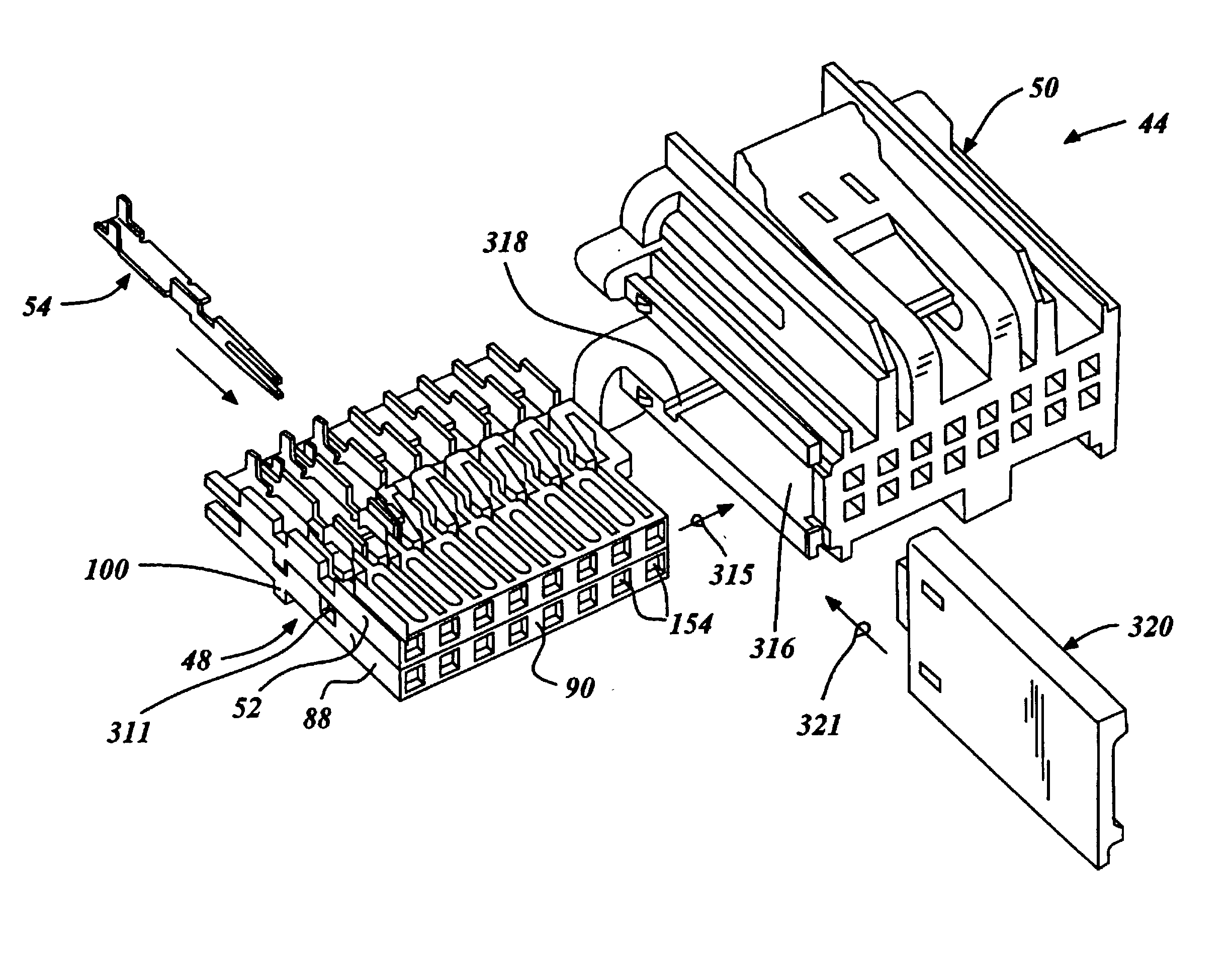 patent us20030100228 - wire harnesses