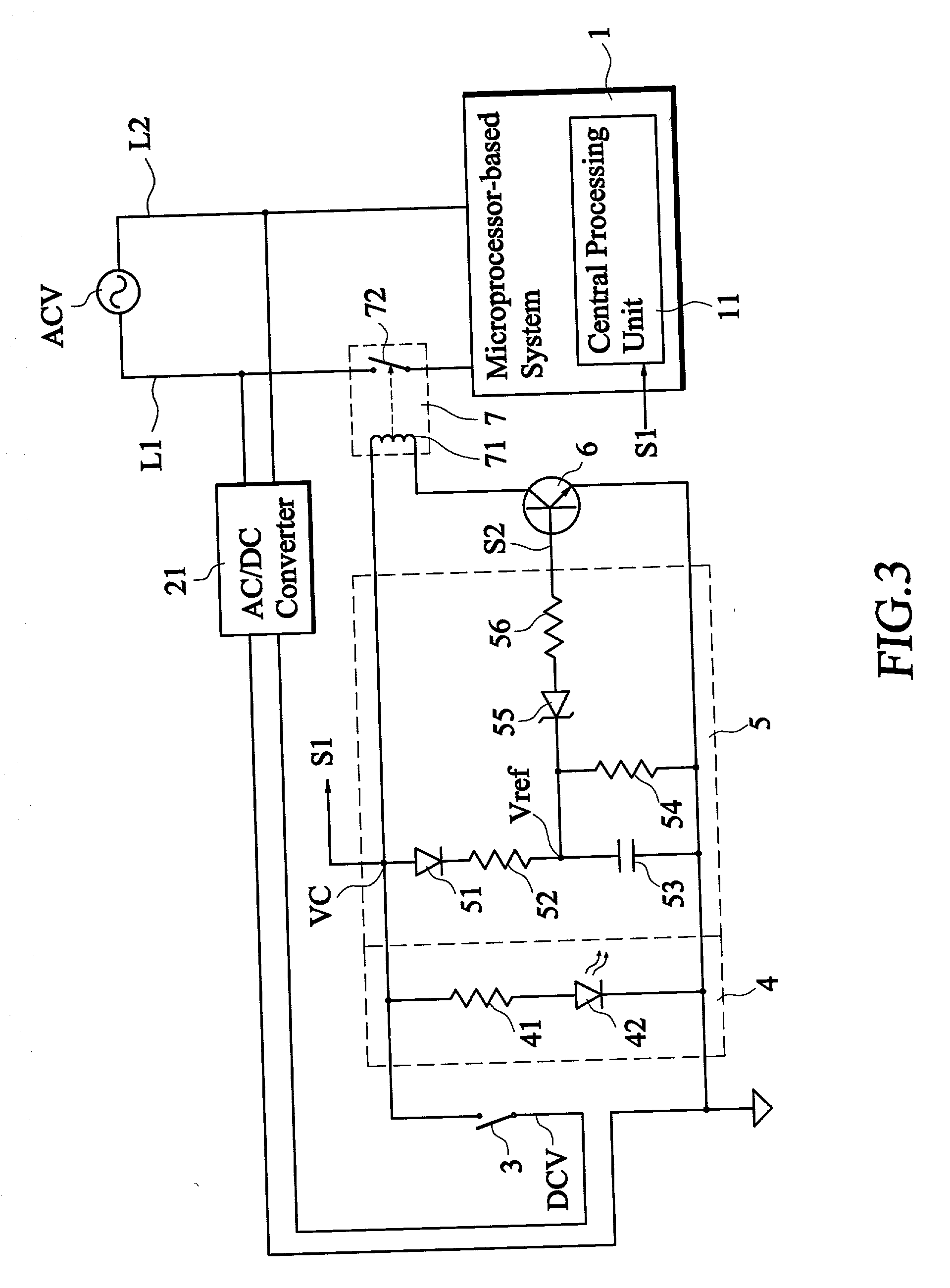 patent us20030111911 power control circuit with power off time Circuit Board patent drawing