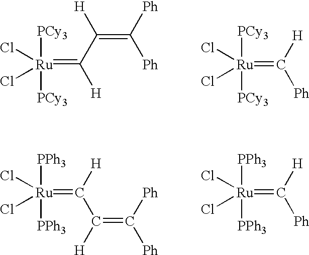 "carbodiimide metathesis ""the role of trace amine in the metathesis of imines by cpta(=nr)cl2"" matthew burland, timothy w pontz and tara y meyer, organometallics , 2002 , 21 1933-1941 ""catalytic double-bond metathesis without the transition metal."