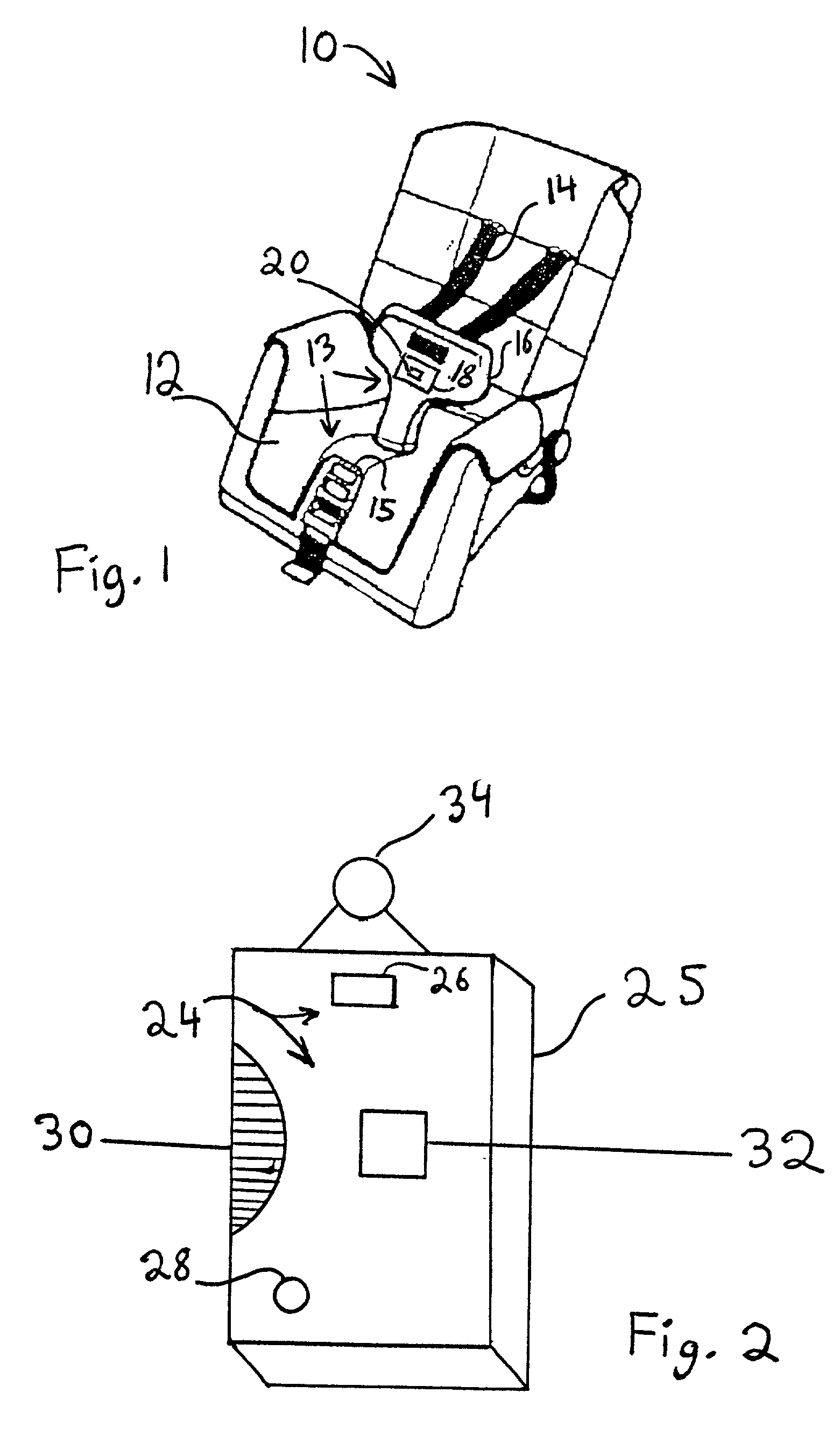 Car Seat Alarm Patent
