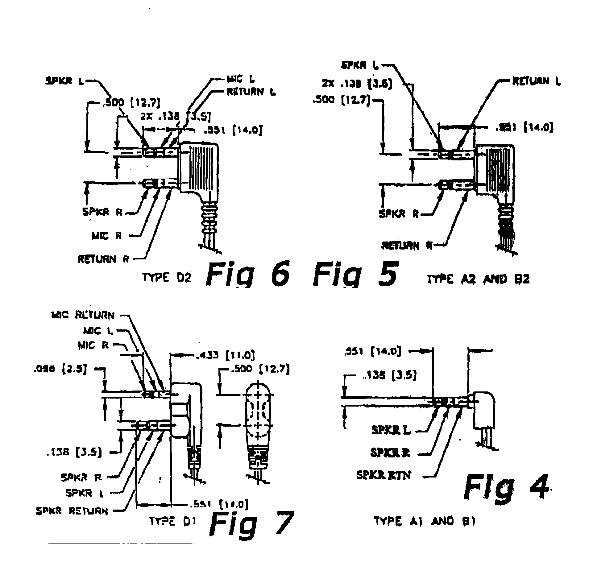 patent us20030153205 - audio jack