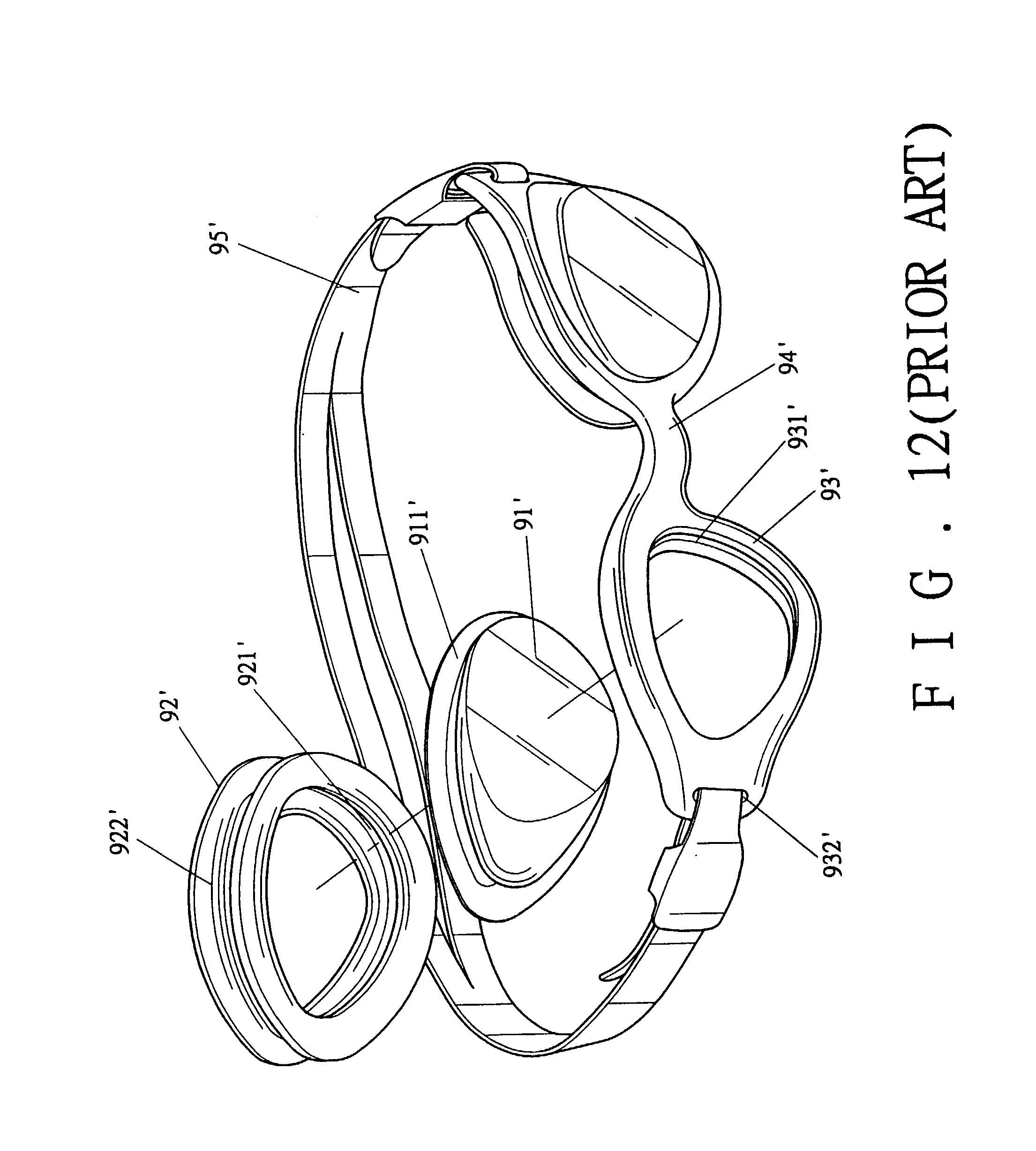 reban goggles  waterproof goggles