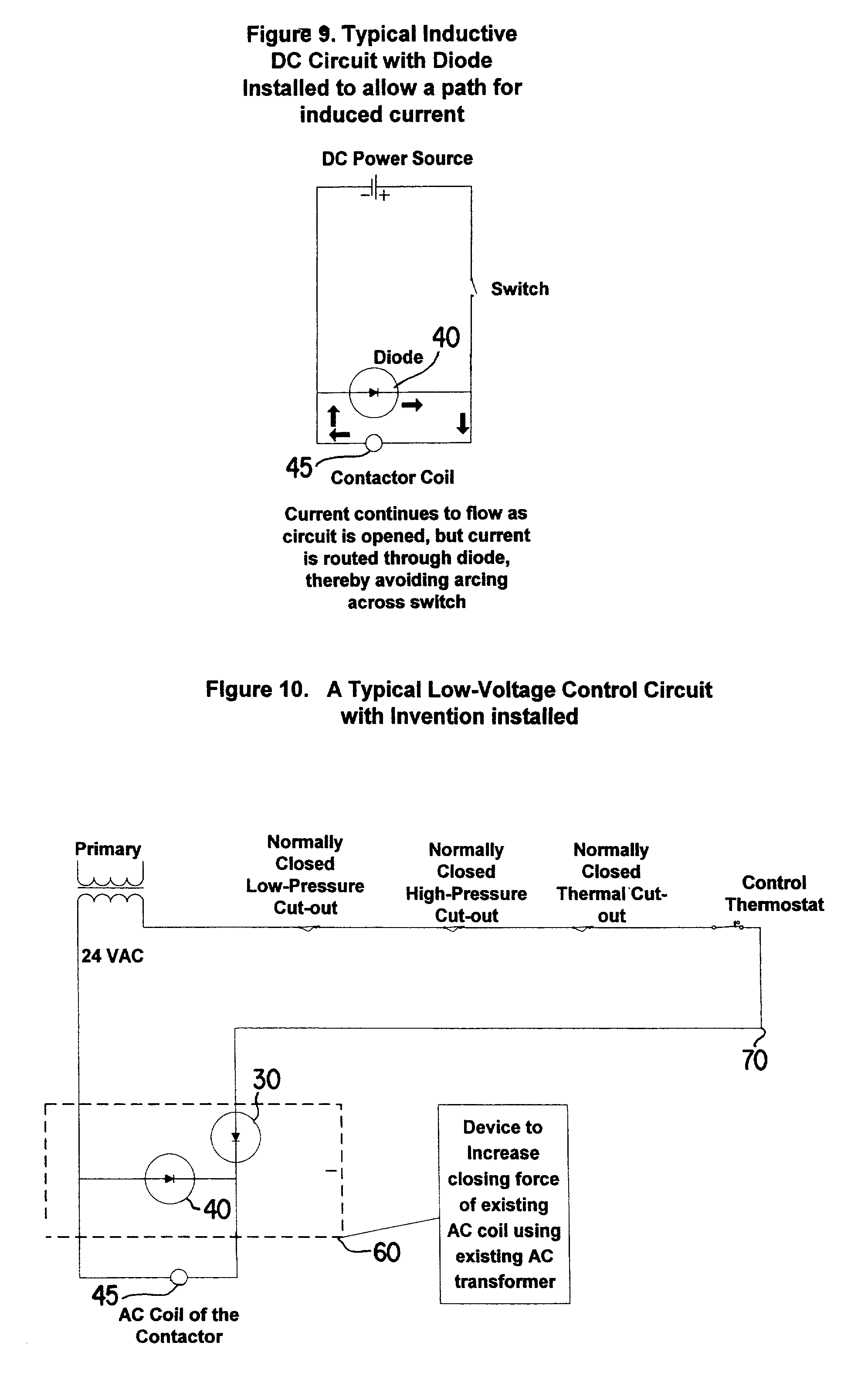 Patent Us20030197999 Device To Increase The Closing Force Of Ac Diode In Circuit Drawing