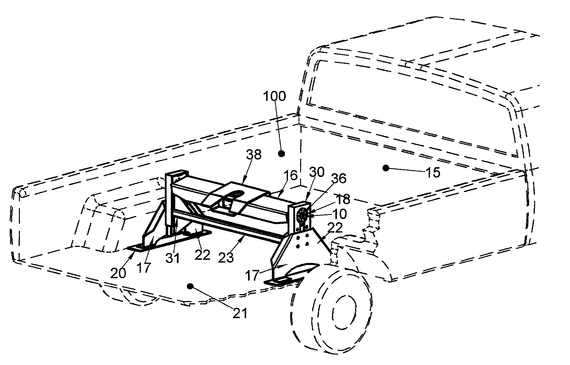 patent us20030214114 - shock absorber for fifth wheel trailer hitch