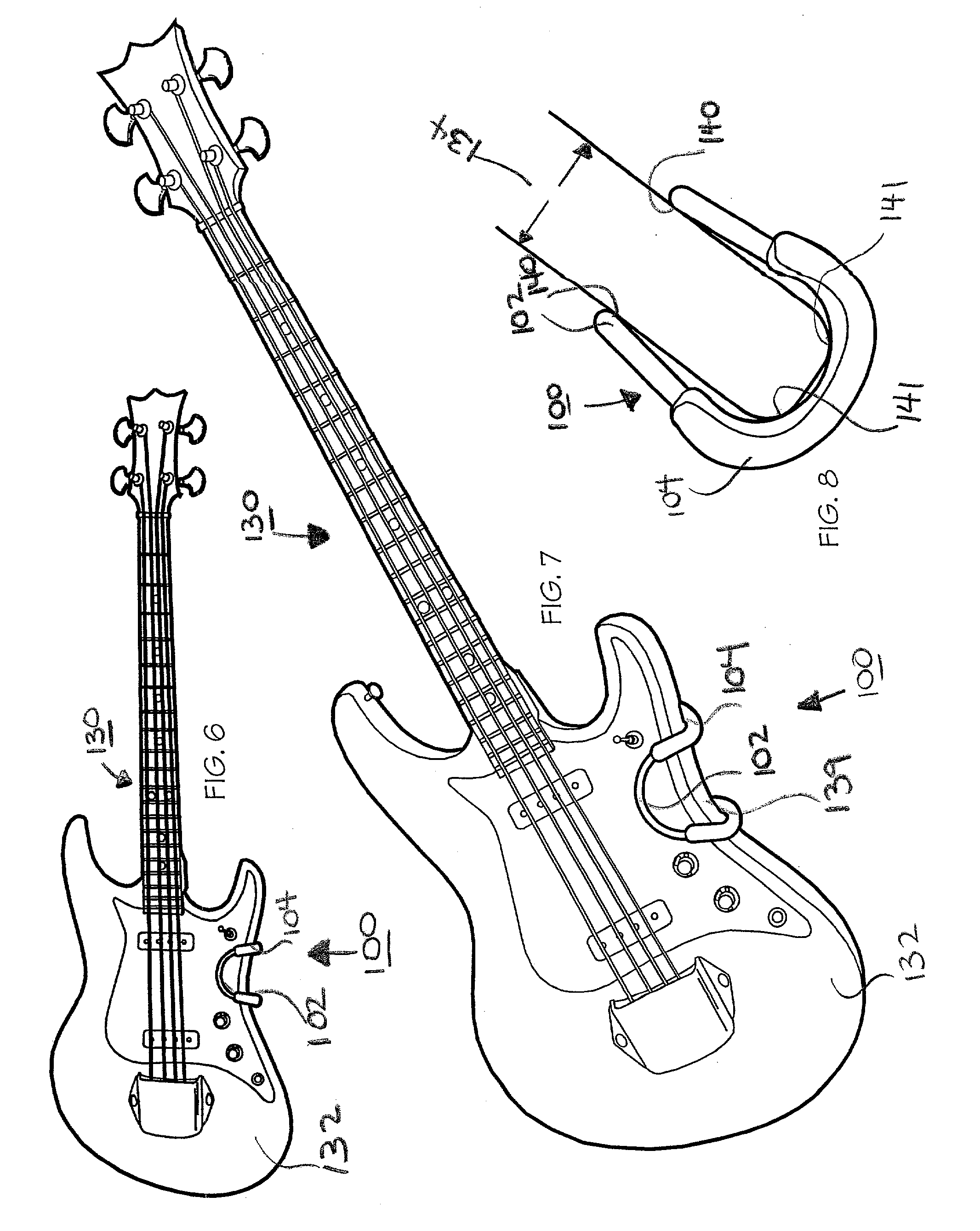 Patent Us20030217635 Musical Instrument Support Google Patents Diagram Furthermore Lap Steel Guitar Together With Electric Drawing