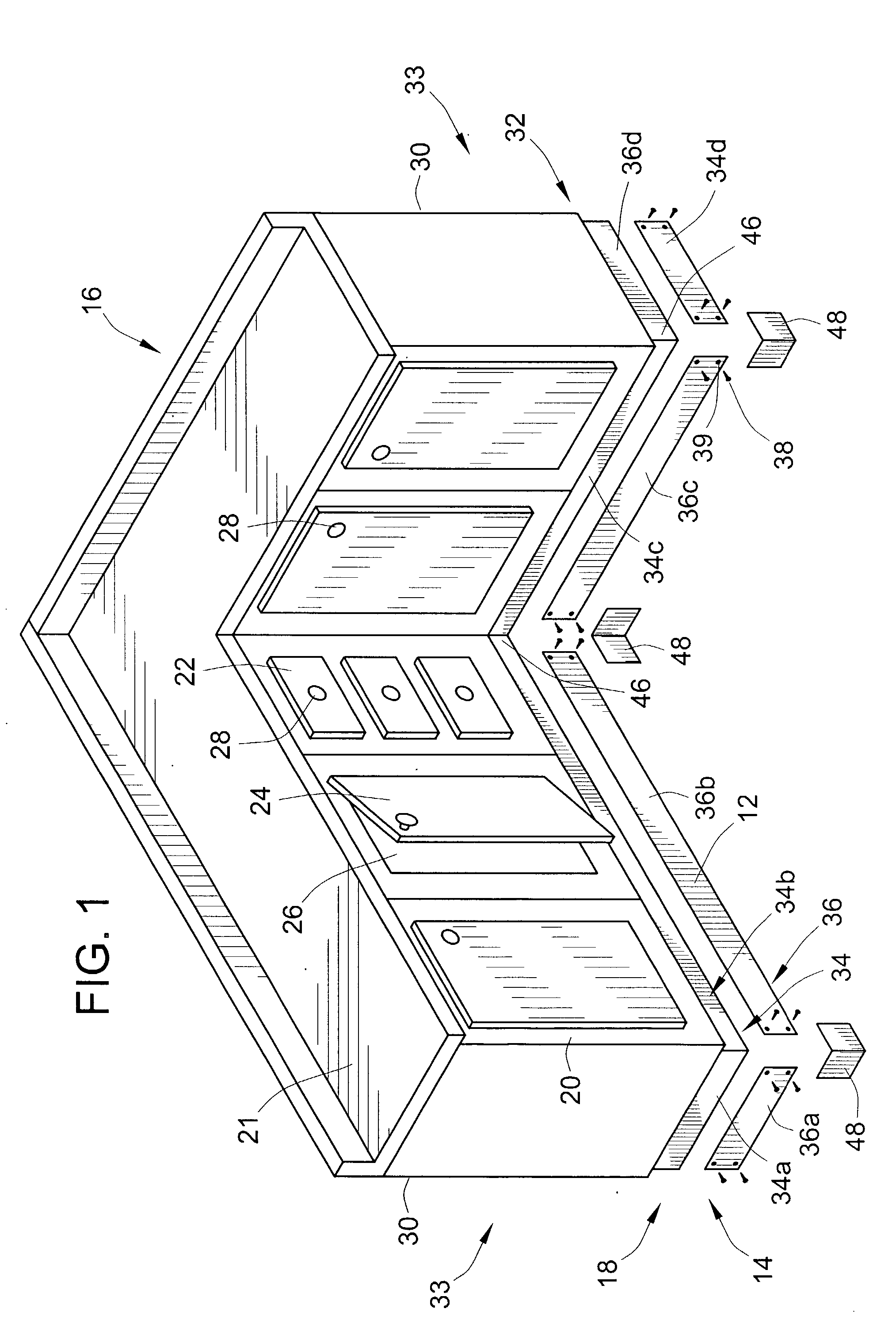 Kick Plates For Cabinets Patent Us20030222552 Metallic Toe Kick For Wooden Cabinets
