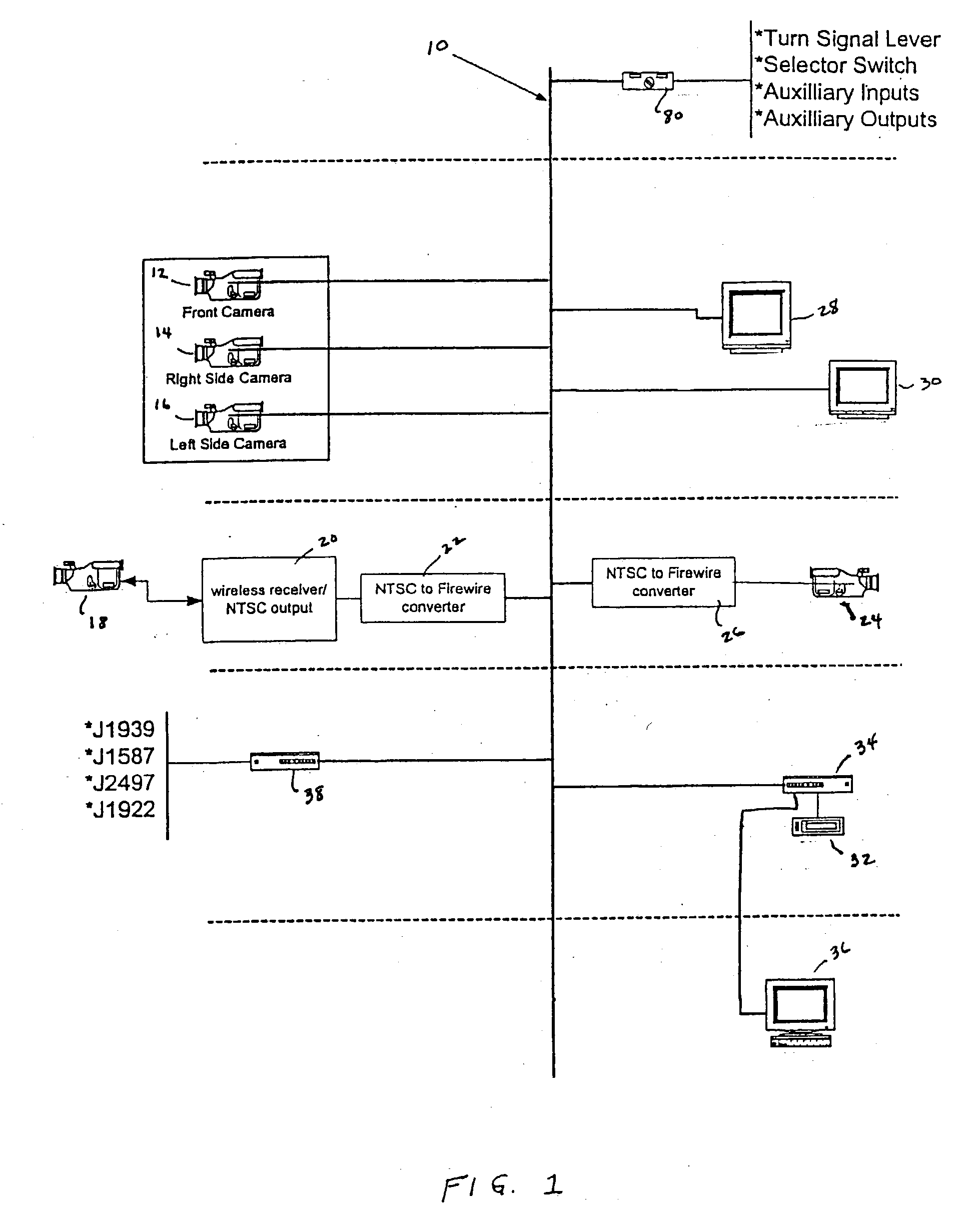 US20030222982A1 20031204 D00001 patent us20030222982 integrated video data information system voyager camera wiring diagram at arjmand.co
