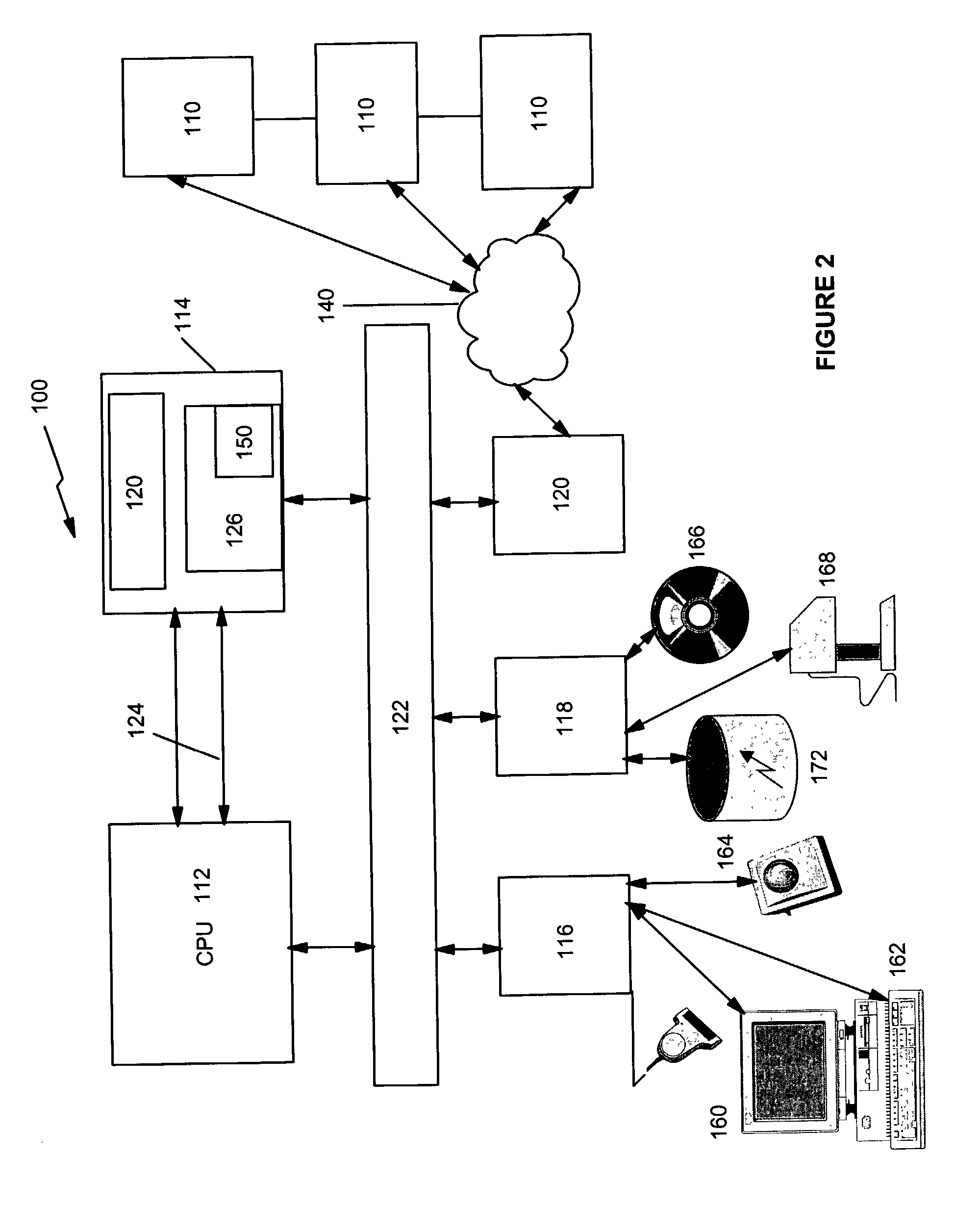 patent drawing - As400 Computer System