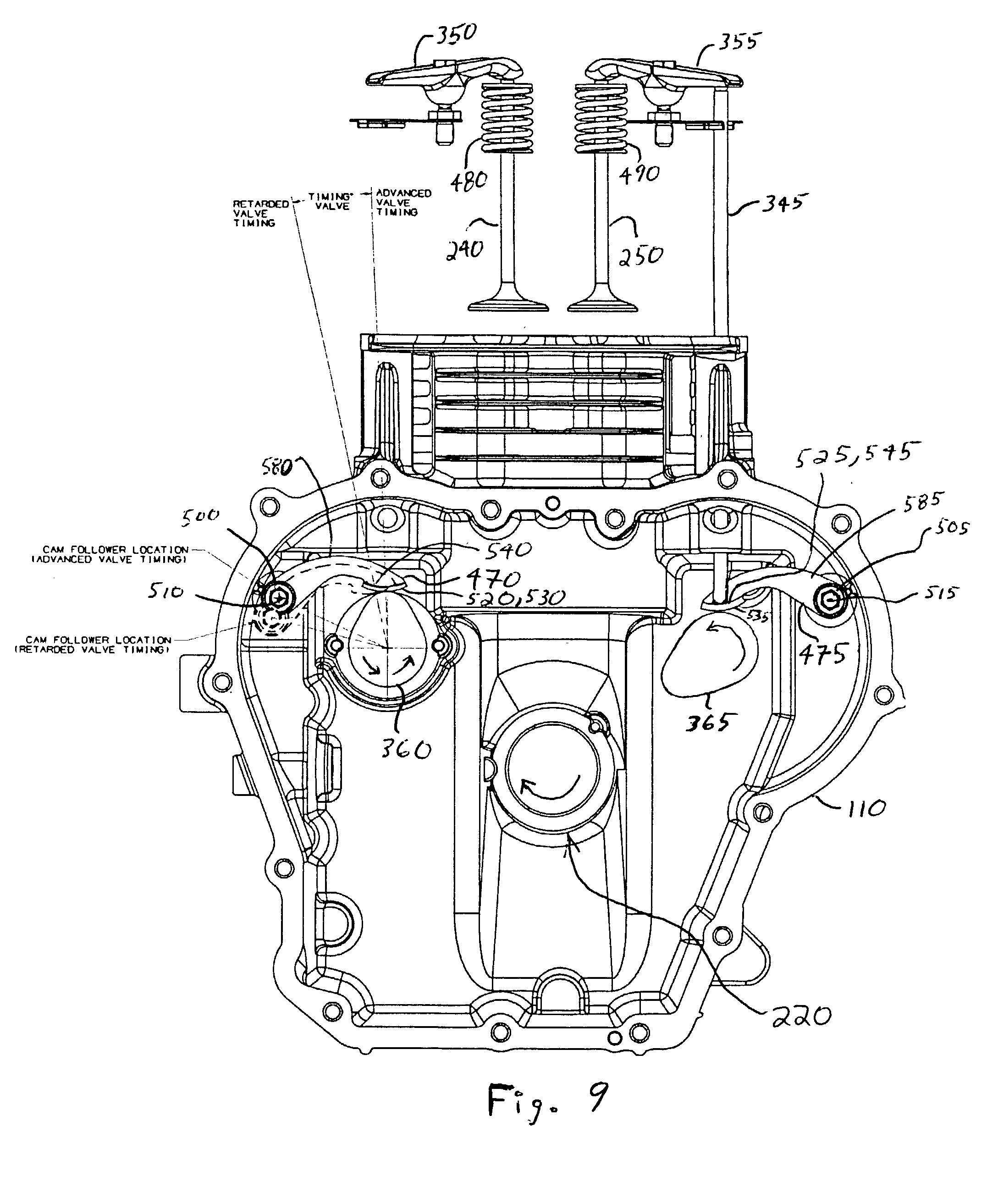 Patent Us20040011312 Cam Follower Arm For An Internal Combustion Engine Diagram Lifters Drawing