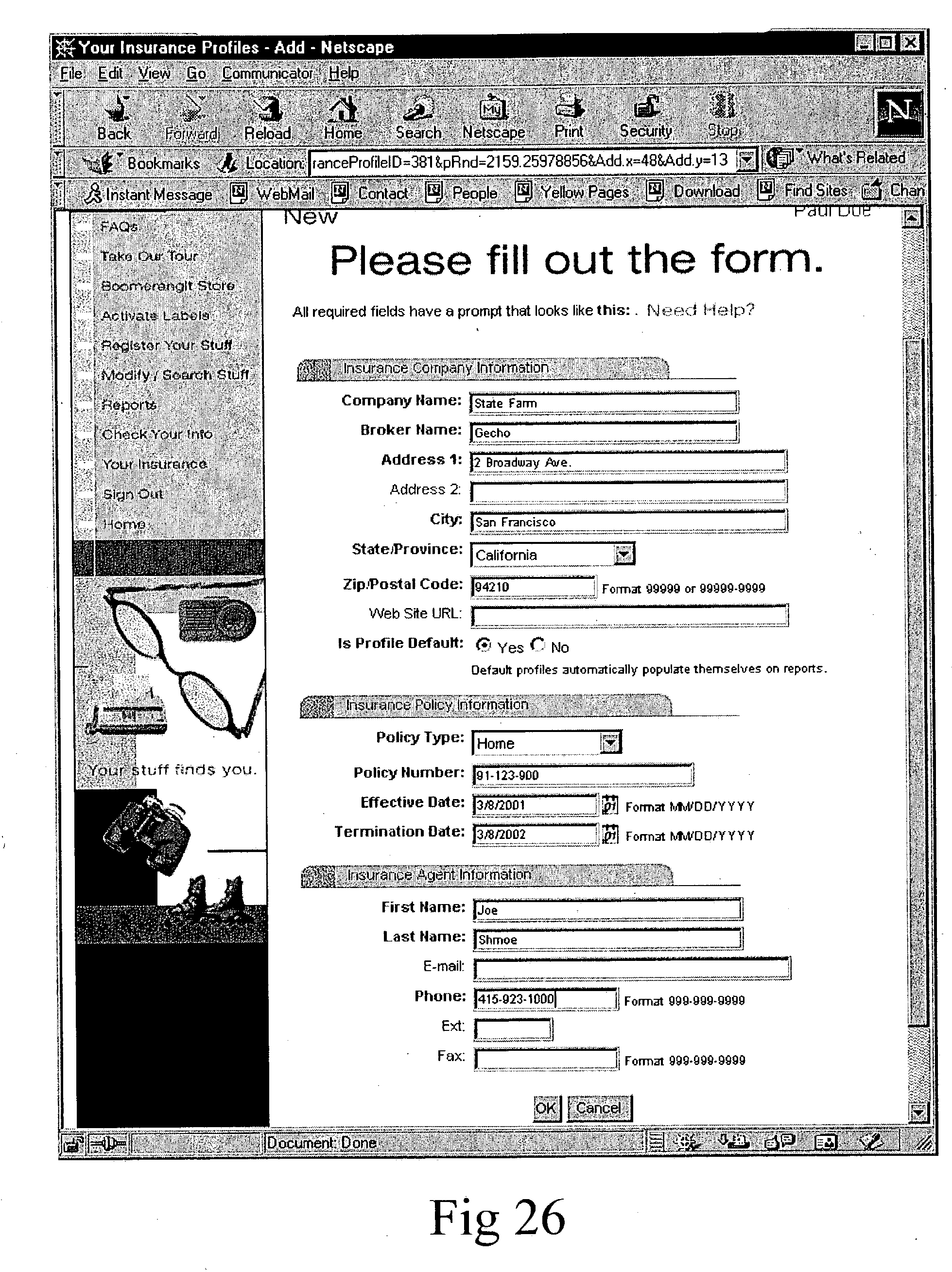 Return Receipt Requested Pdf Patent Us  System And Method For Asset Tracking With  Invoice Journal with Free Invoice Templates For Word Excel Patent Drawing Fee Receipt Template Word
