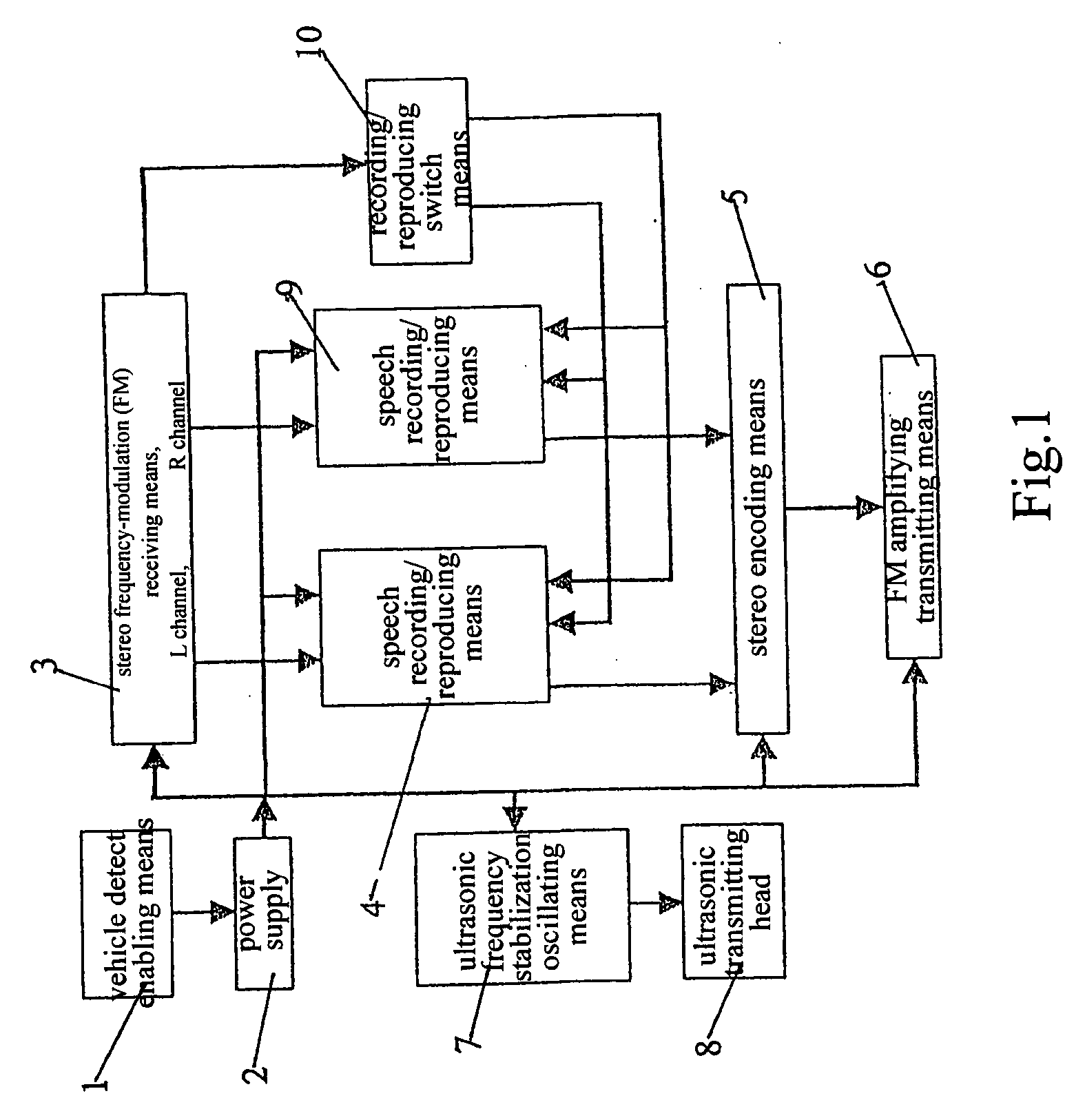 Patent Us20040030489 Traffic Caution Device Which May Identify The Frequency Modulated Fm Oscillator Circuit Drawing