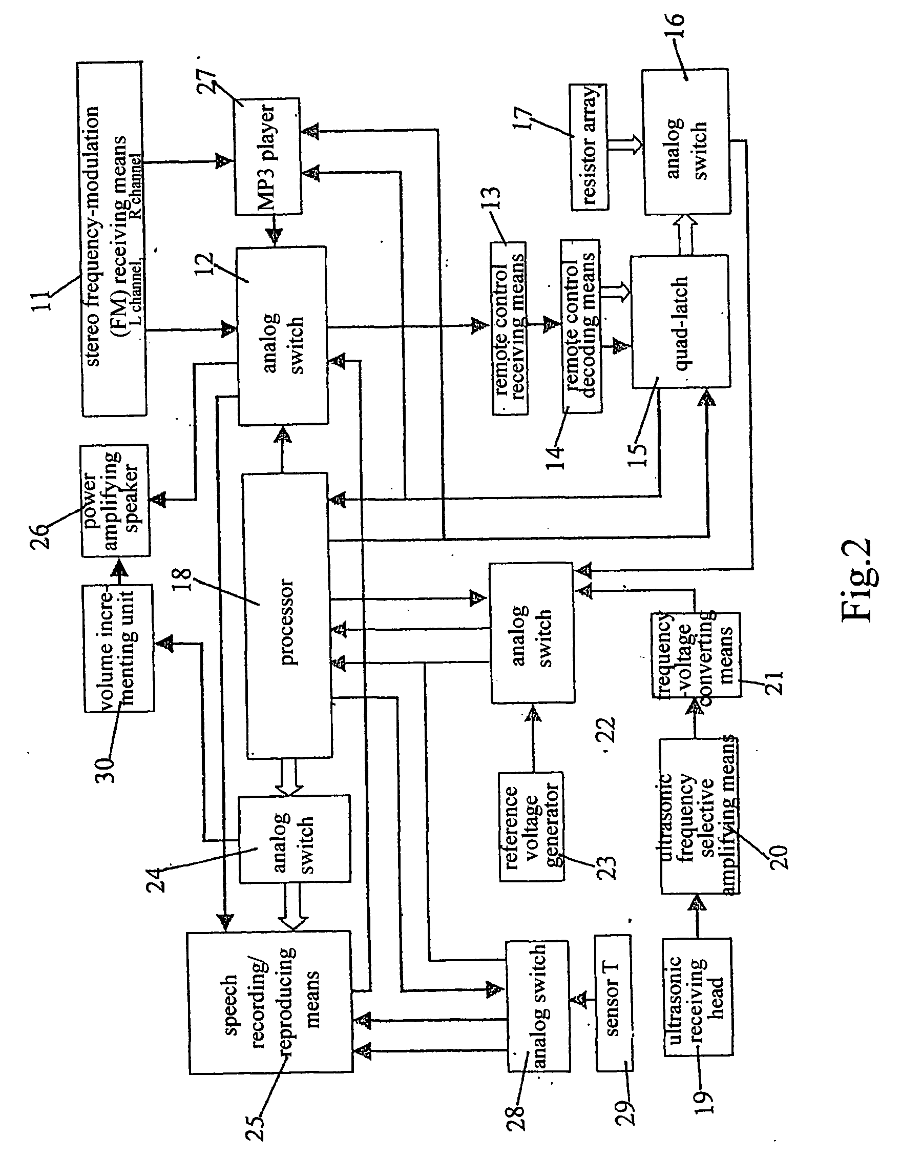 Patent Us20040030489 Traffic Caution Device Which May Identify The 40khz Second Ultrasonic Transmitting Circuit Transistors Drawing