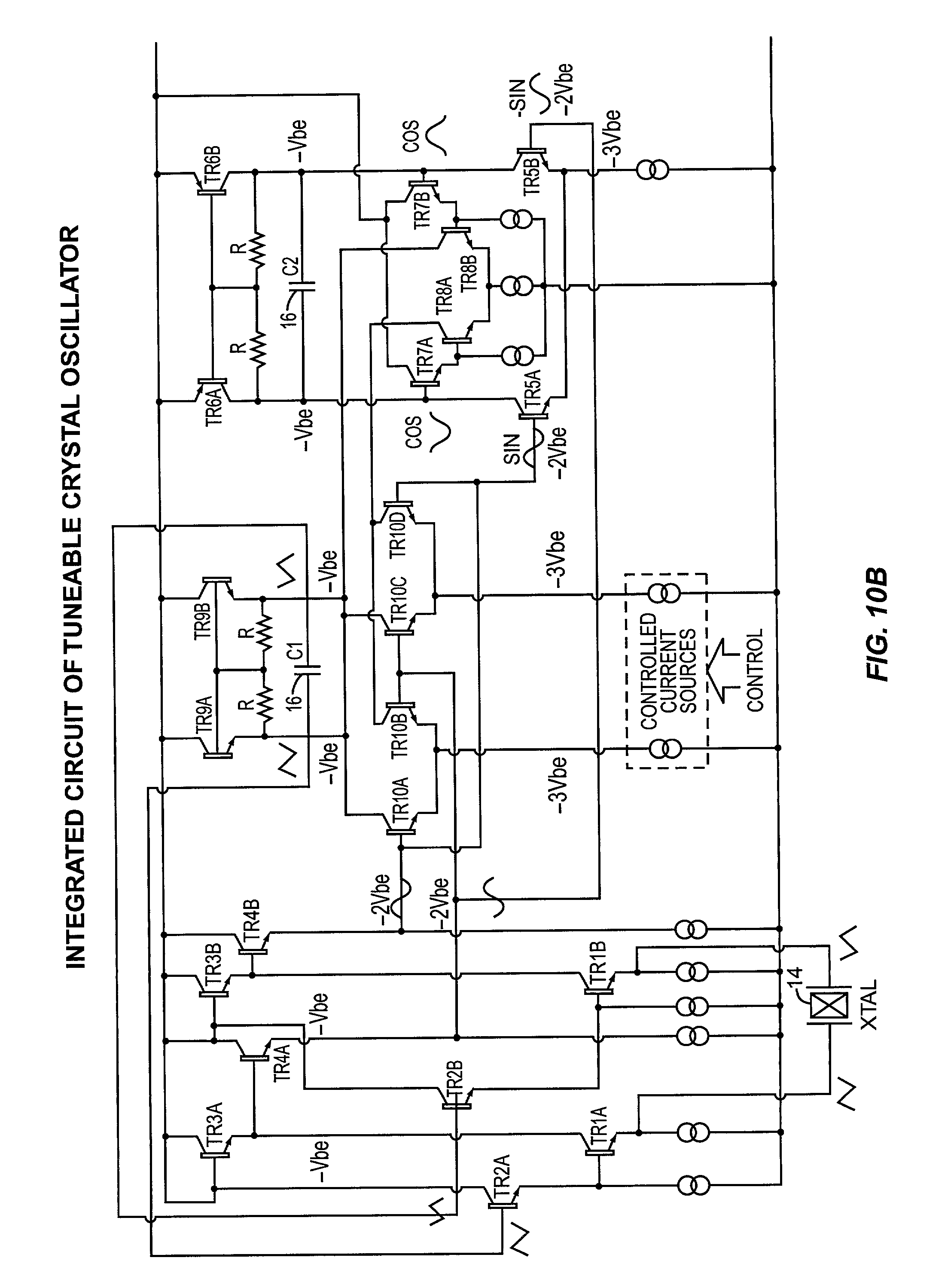 Patent Us20040056728 Integrated Digitally Controlled Crystal Voltagecontrolled Oscillator Vcxo Circuit Diagram Drawing