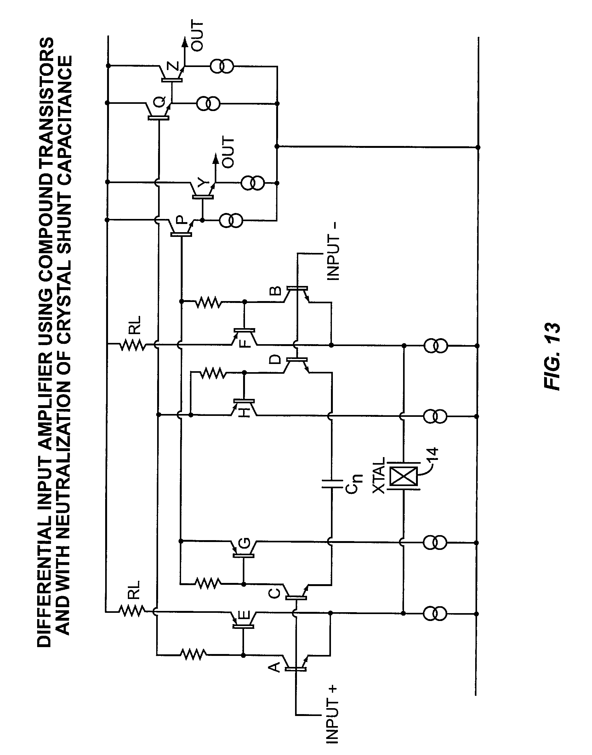 Patent Us20040056728 Integrated Digitally Controlled Crystal Phase Shift Oscillator Circuit Using Transistor Image Drawing