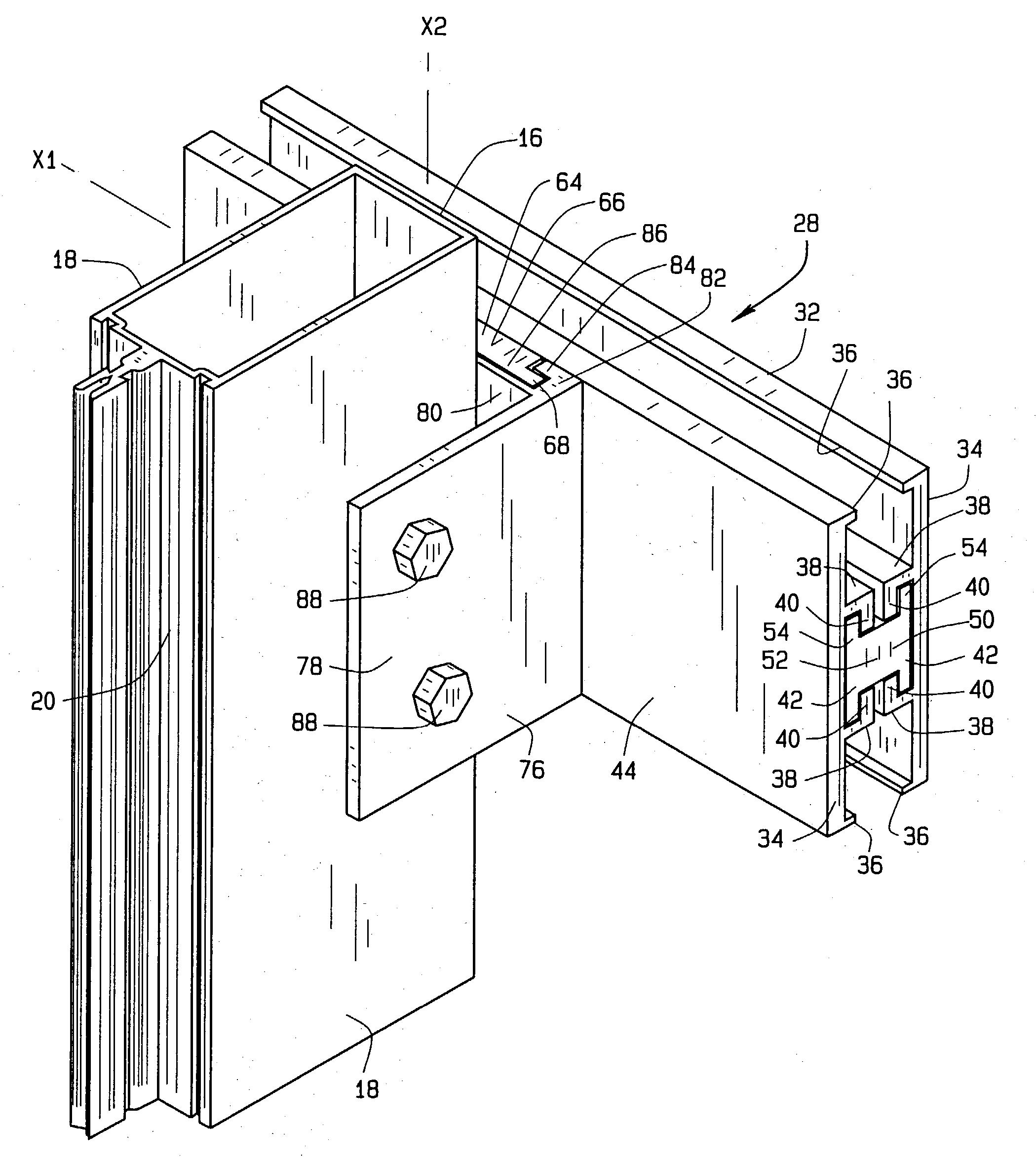 Patente Us20040079038 Curtain Wall Anchor Google Patentes