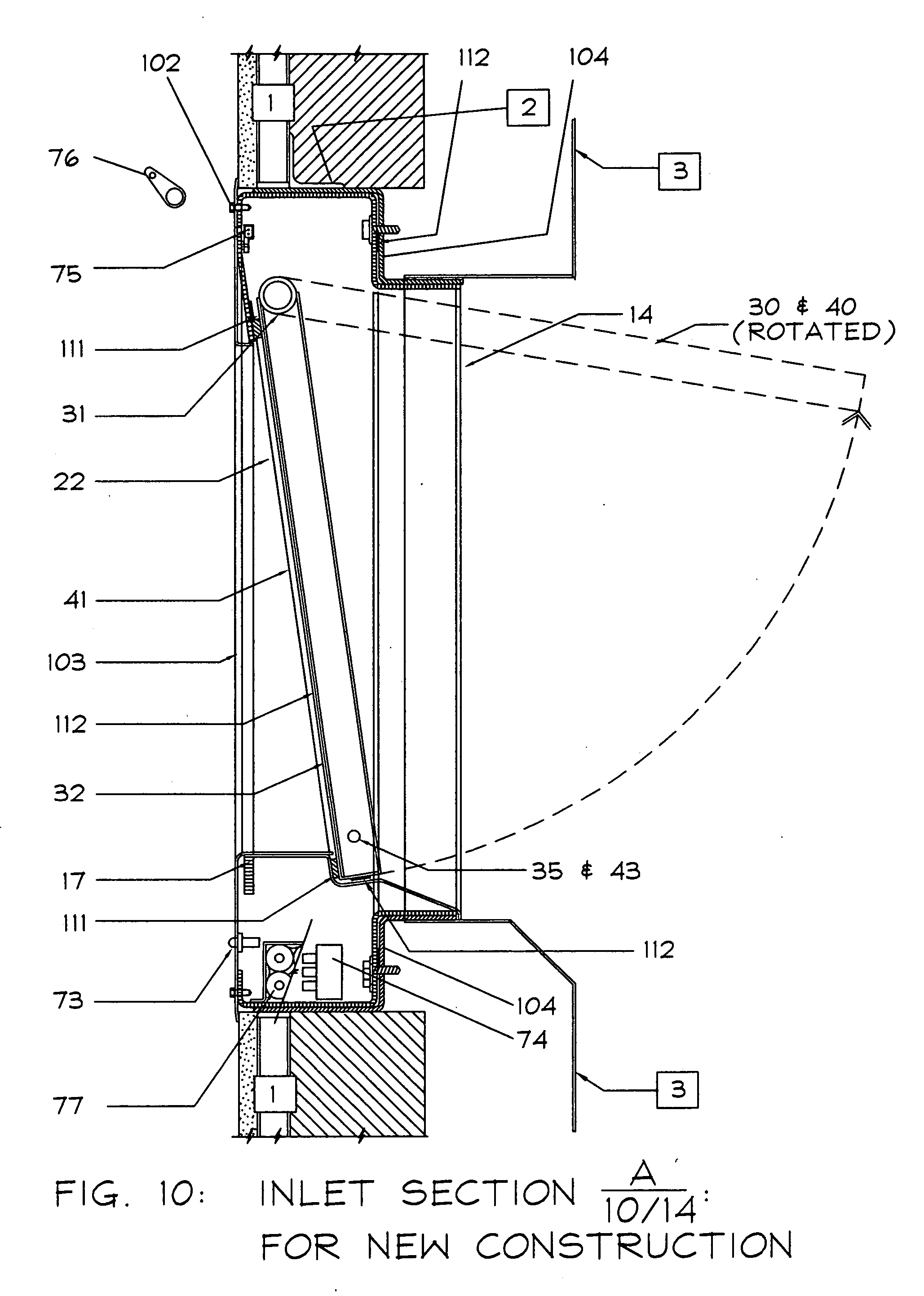 Garbage Chute Design : Patent us  code compliant trash and or linen