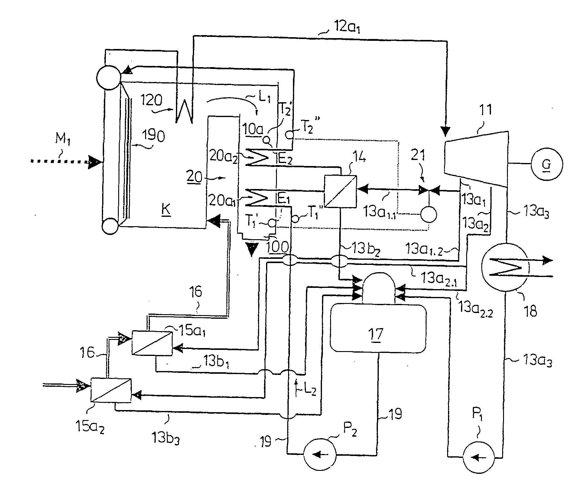 Patent US Integration construction between a boiler
