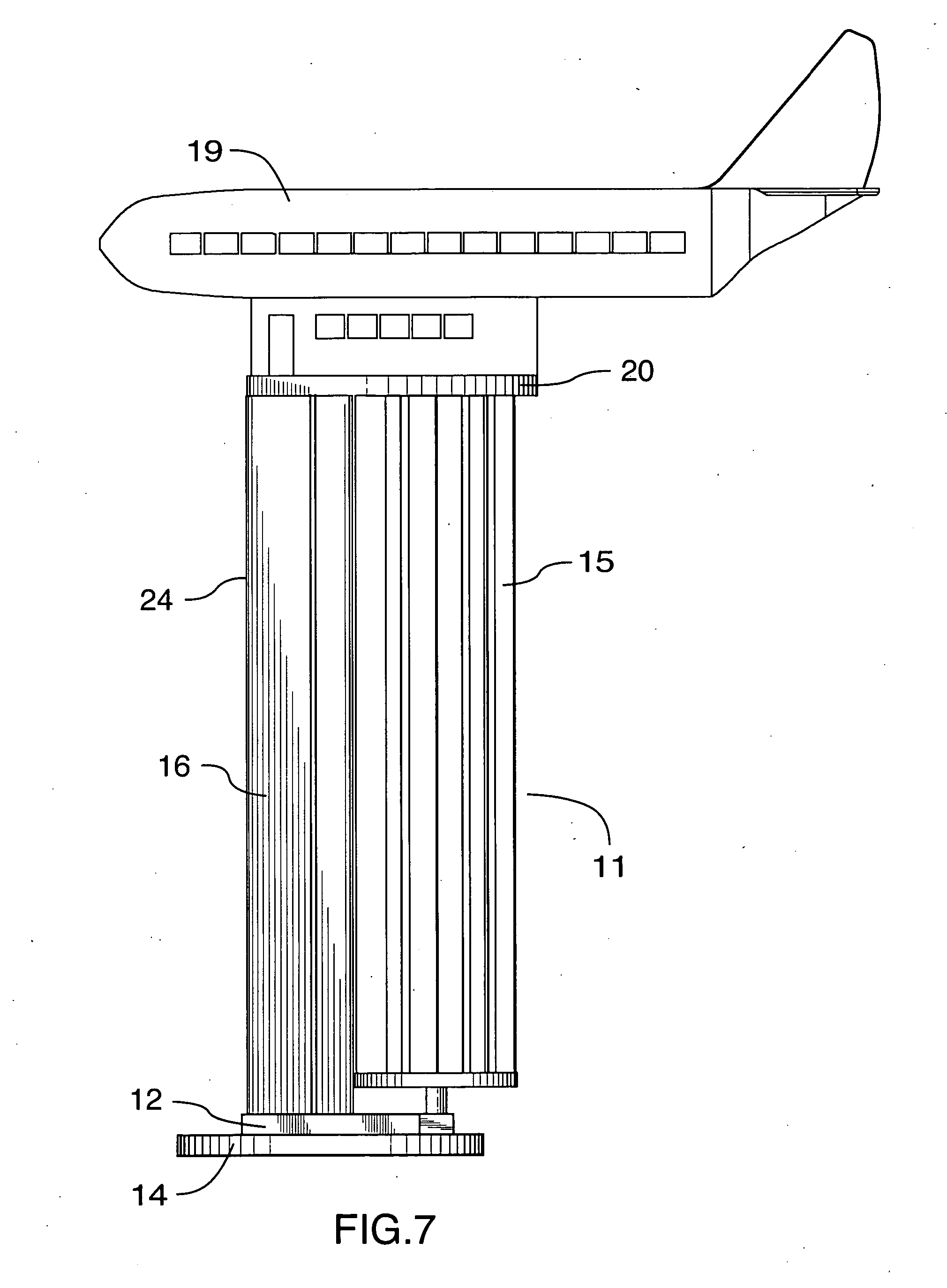 Patent Us20040141845 Vertical Axis Wind Turbine Google Patents 4 Wheeler Engine Diagram Drawing