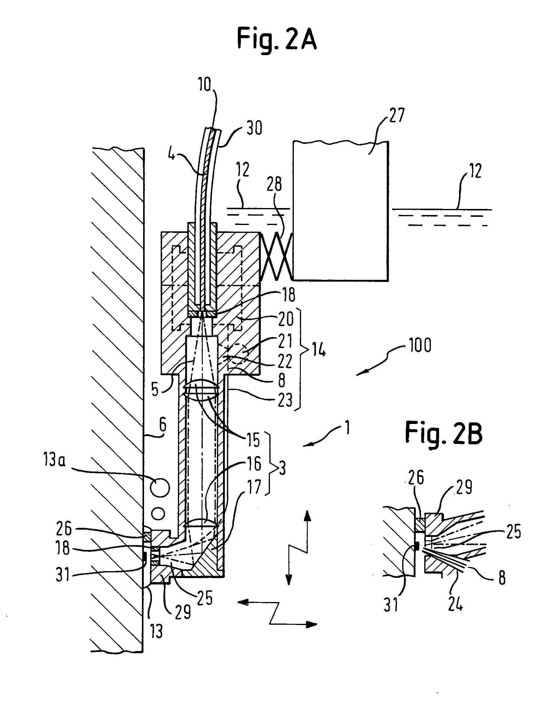 Patent Us20040149707 Underwater Laser Processing Apparatus And Welding Diagram Drawing