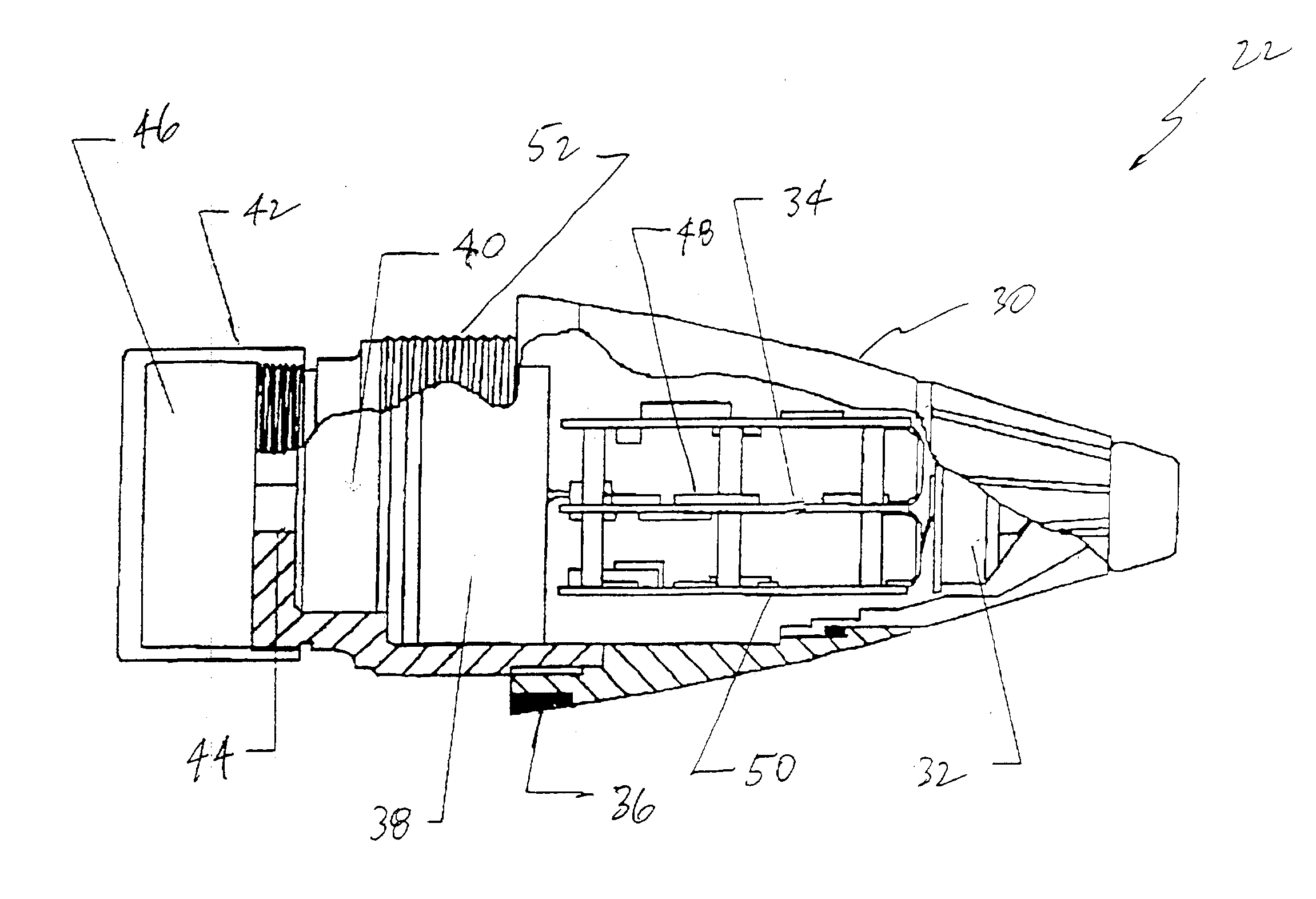 Patent Us20040159261 Accuracy Fuze For Airburst Cargo Delivery Dodge 47re Transmission Wiring Diagram Drawing