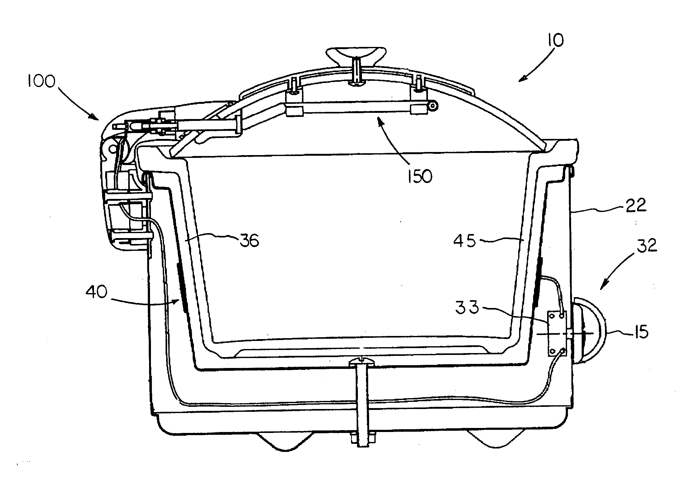 US20040159649A1 20040819 D00000 patent us20040159649 slow cooker with dual heating elements crock pot wiring diagram at readyjetset.co