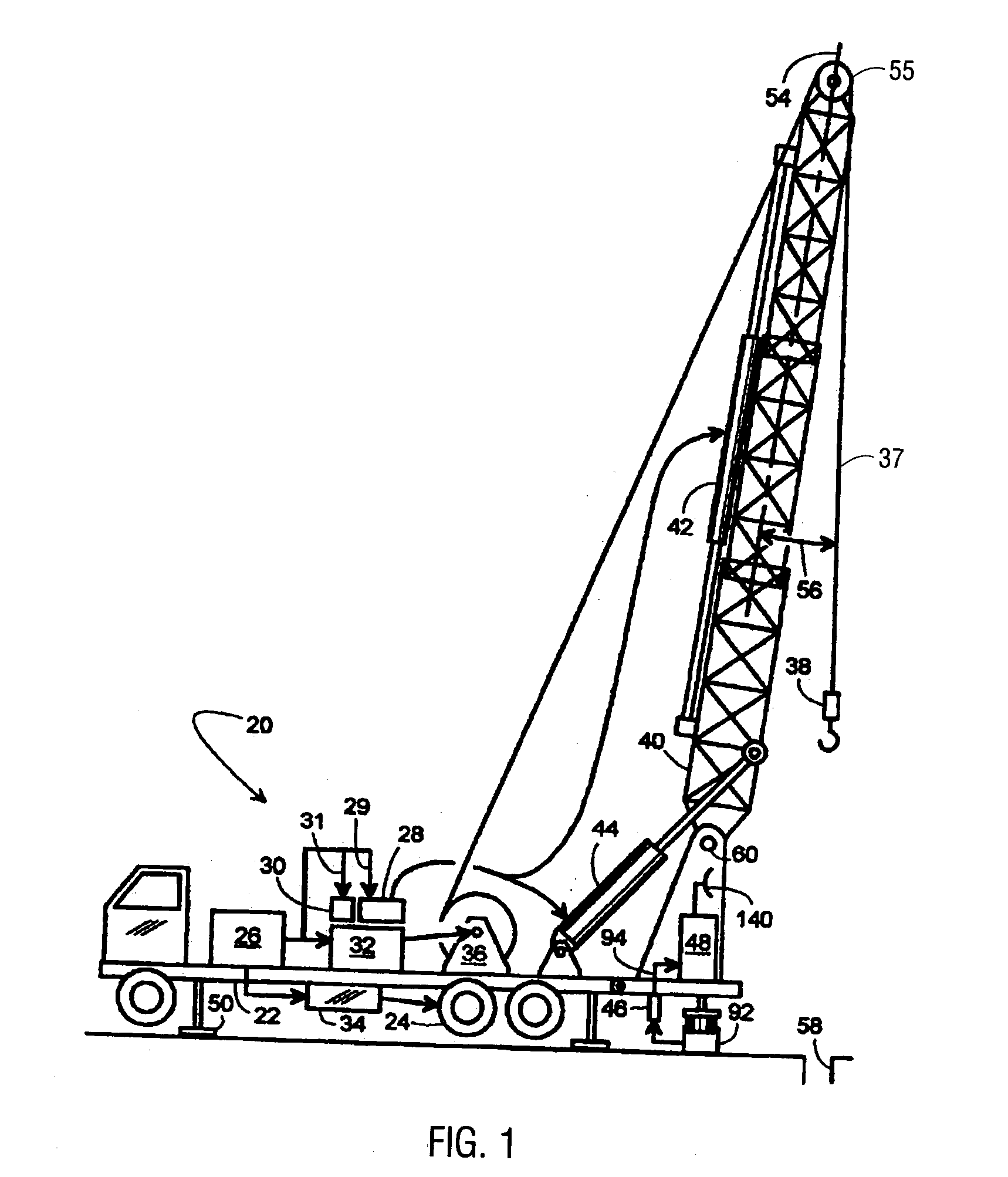 patent us20040162658 - crown out-floor out device for a well service rig