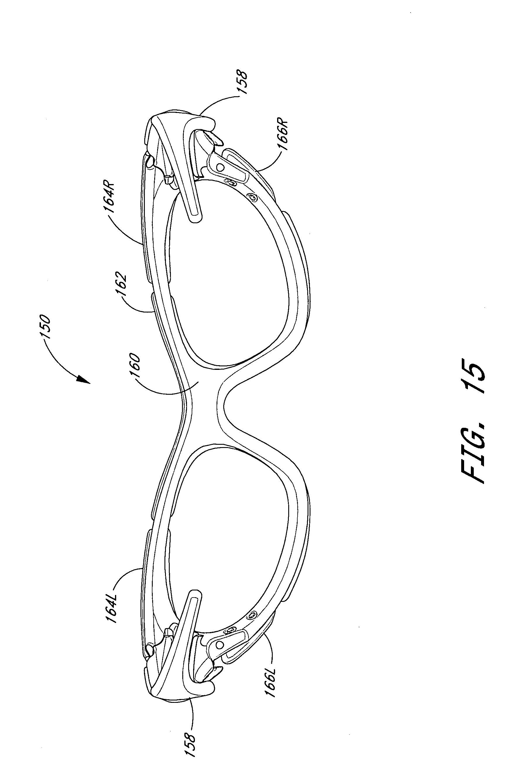 eyeglass frames for men  us20040179166 - eyeglass