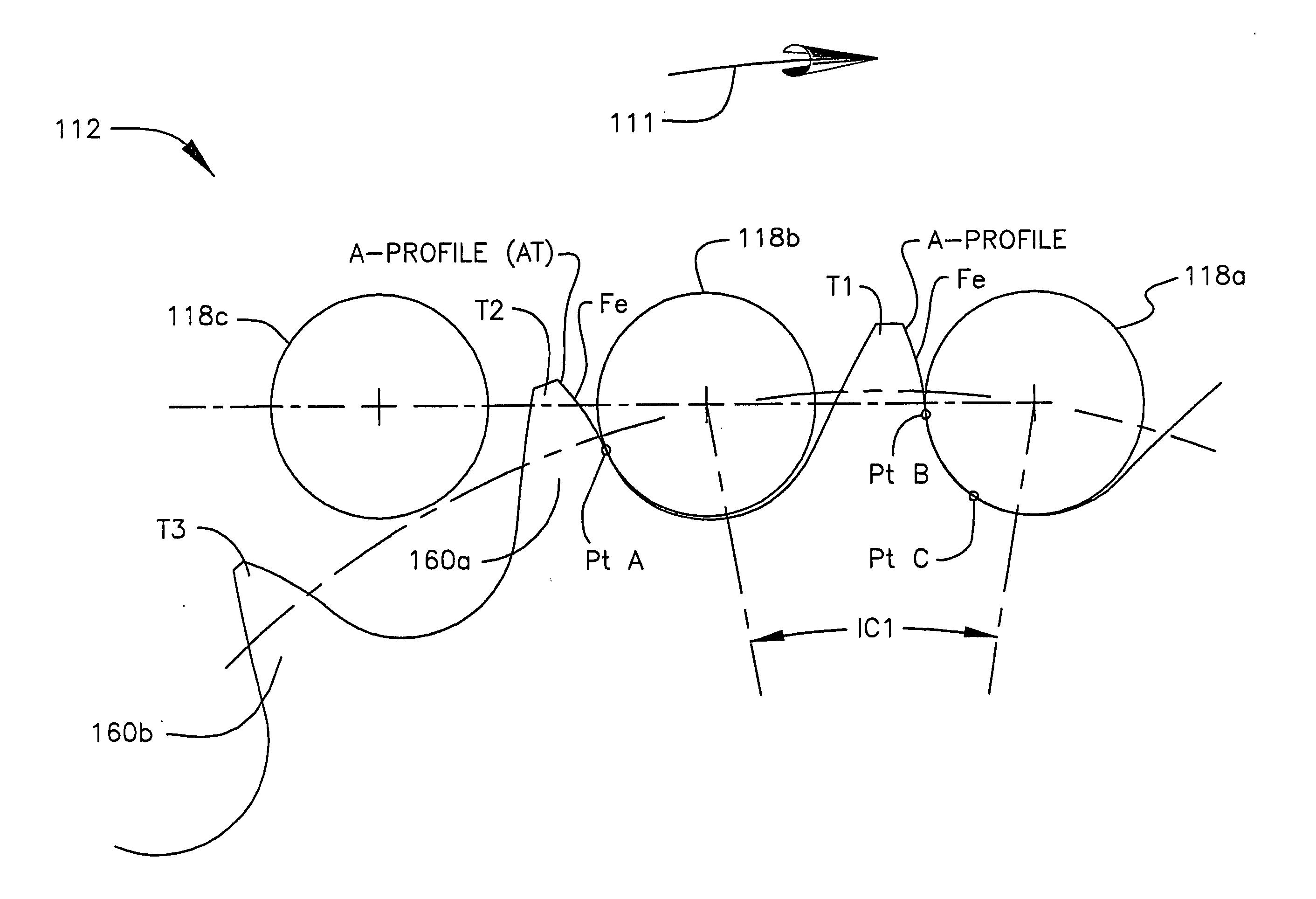 Patent Us20040185977 Random Engagement Roller Chain