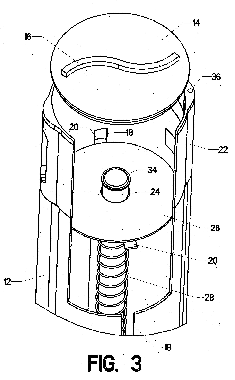 Patent Us20040188297 Pop Up Toilet Paper Dispenser
