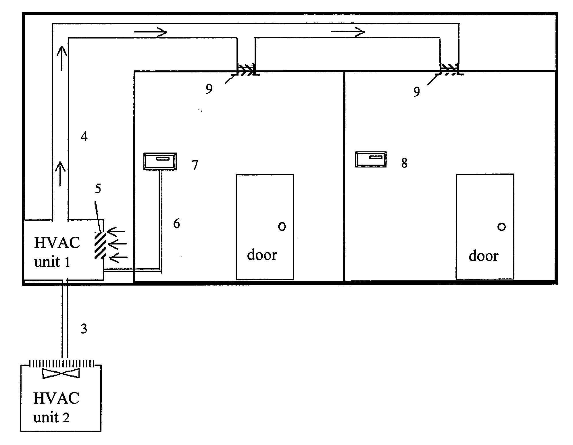 Affordable and easy to install multi zone HVAC system   Patents #252525