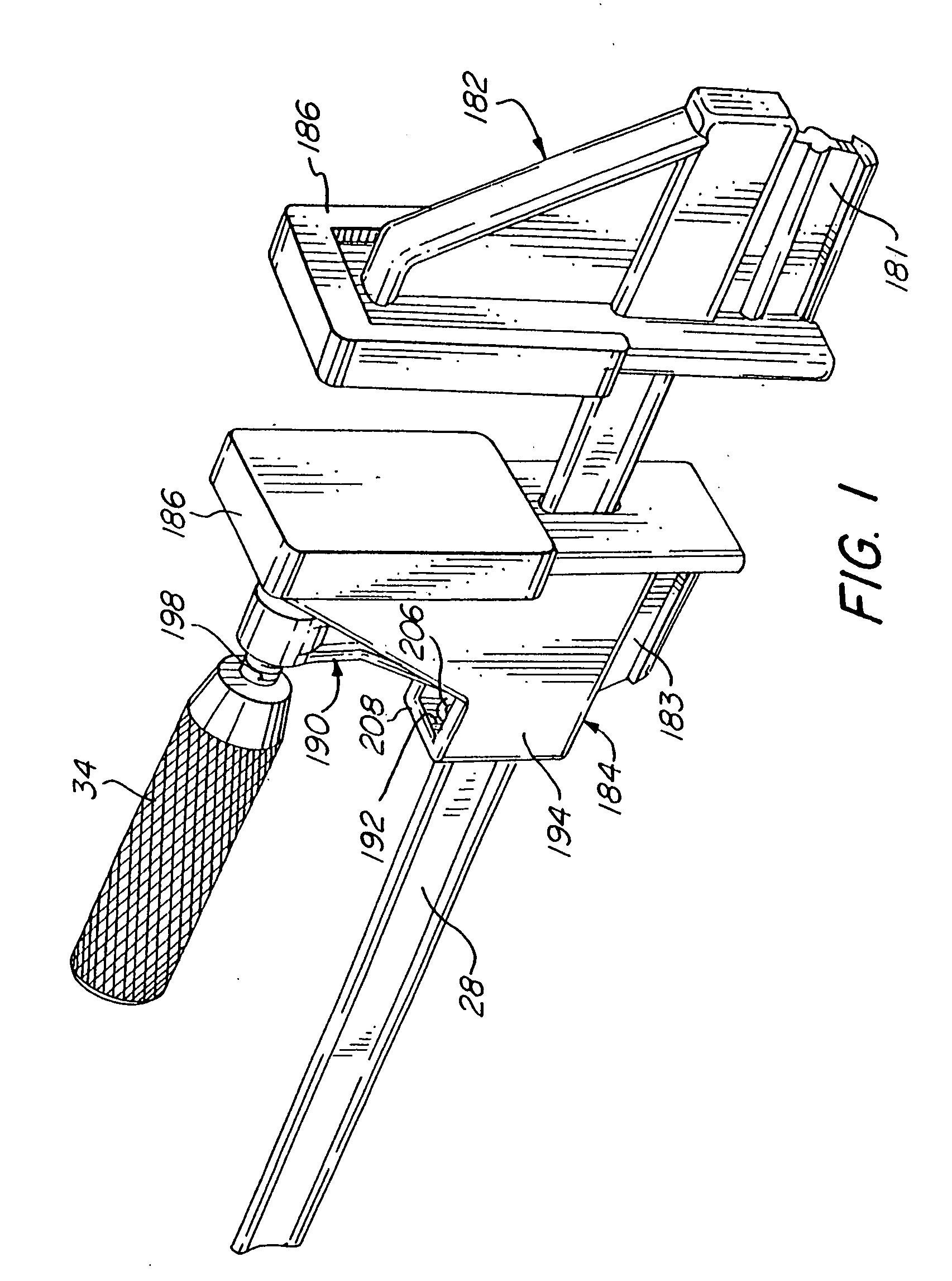 patent us20040245692 - bar clamp