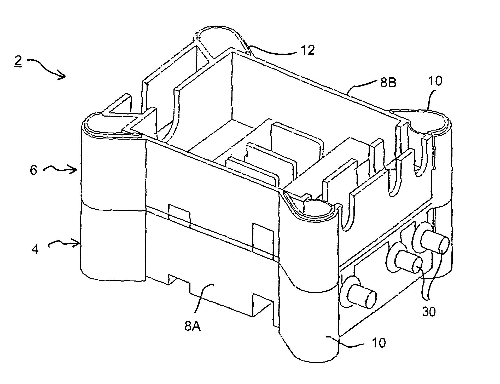 patente us20040252446 fuse box for a vehicle google patentes on simple auto fuse box