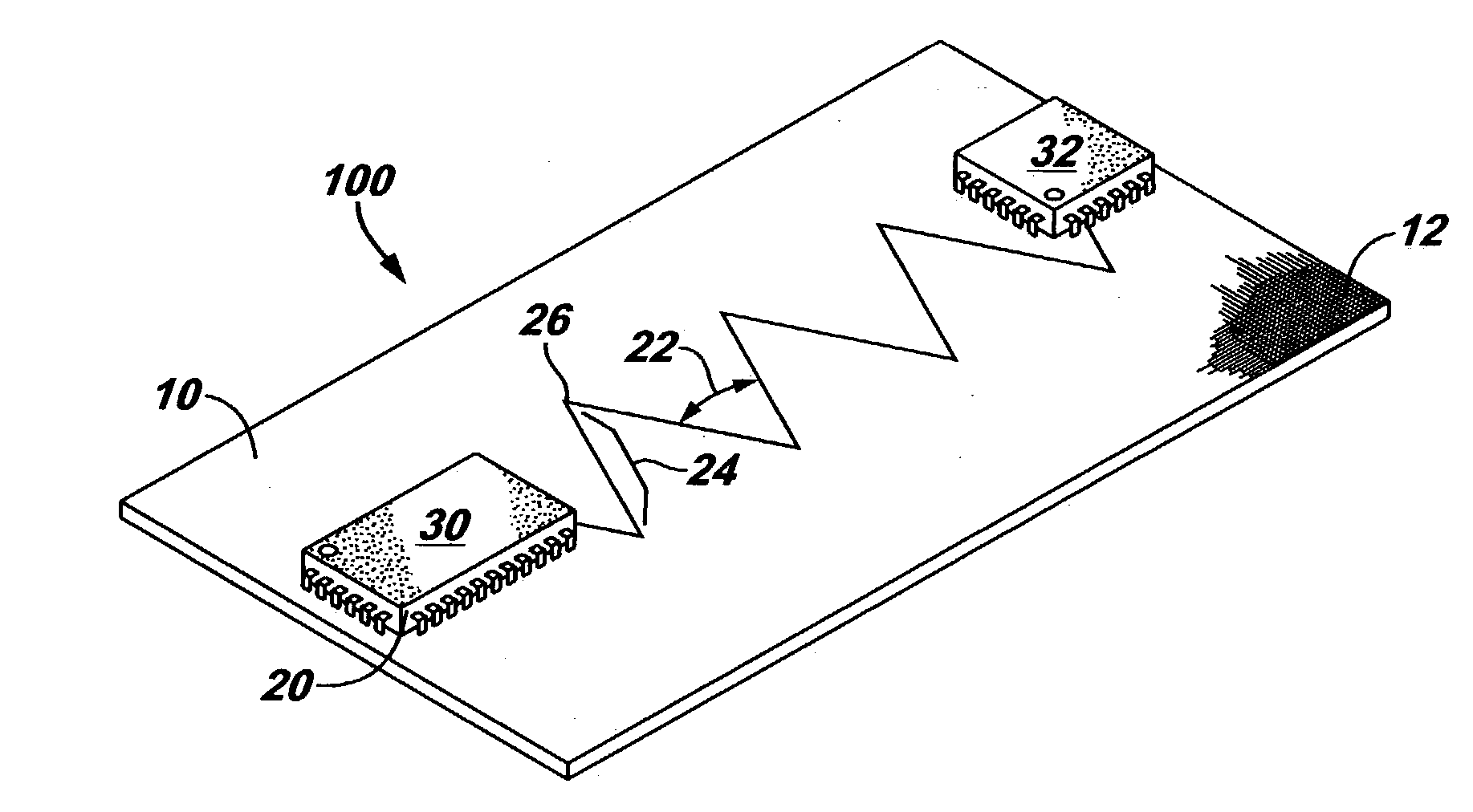patent us20040262036 - printed circuit board trace routing method
