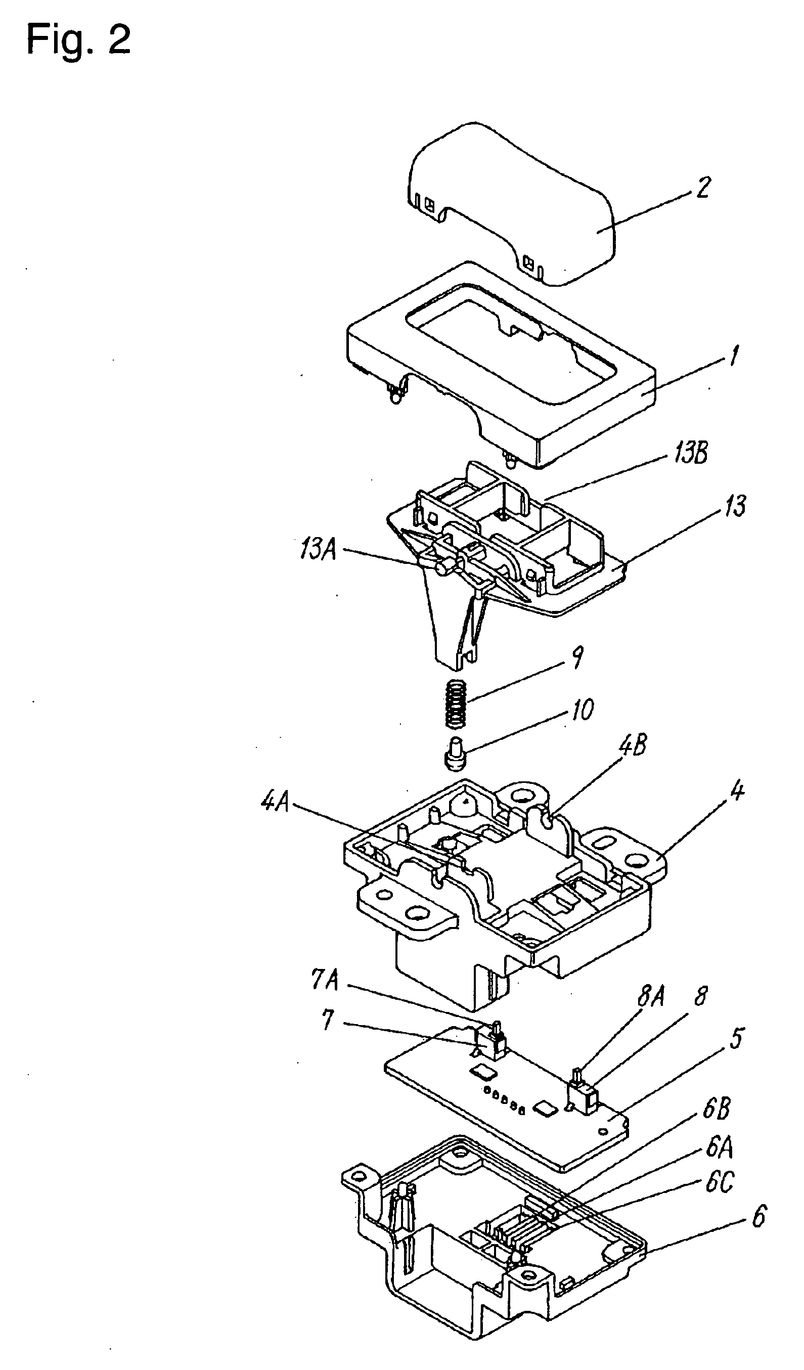 brevet us20050006214 rocker switch brevets 2 Prong Switch Wiring Diagram patent drawing