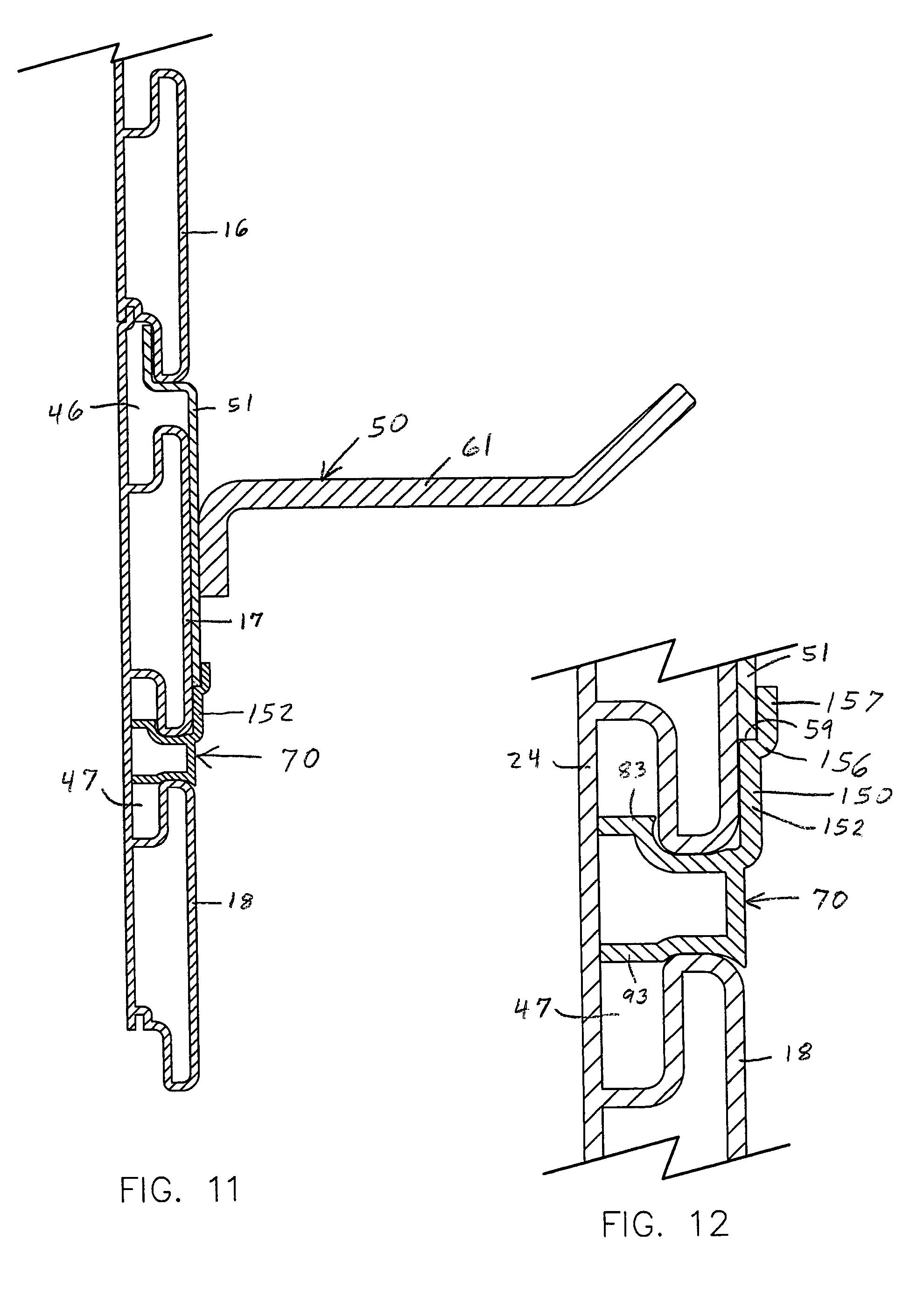 Patent Us20050006539 Slatwall Hanger Stabilizing Clip